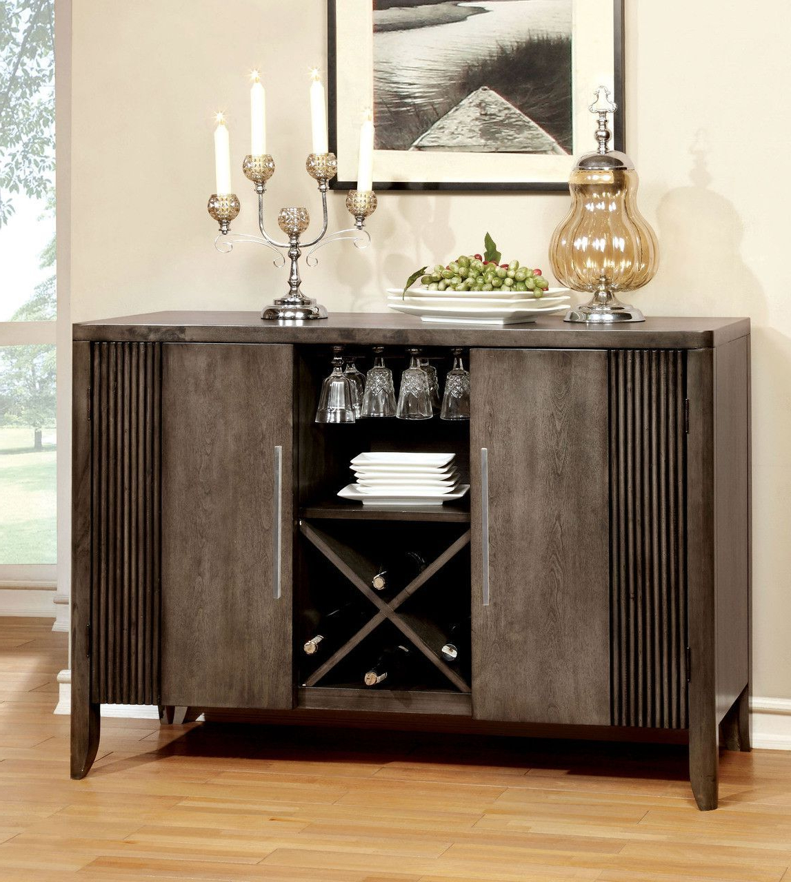 Server Forbes I Collection | Products | Dining Buffet With Alegre Sideboards (View 8 of 20)