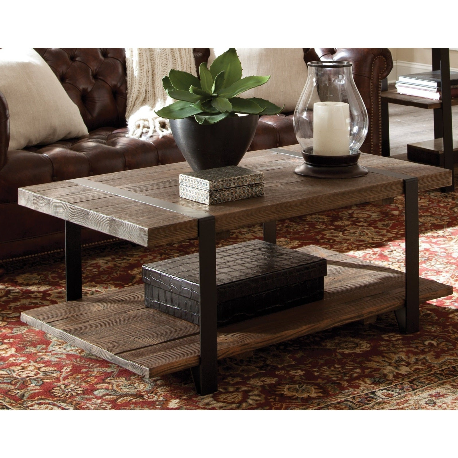 Featured Photo of Carbon Loft Kenyon Natural Rustic Coffee Tables