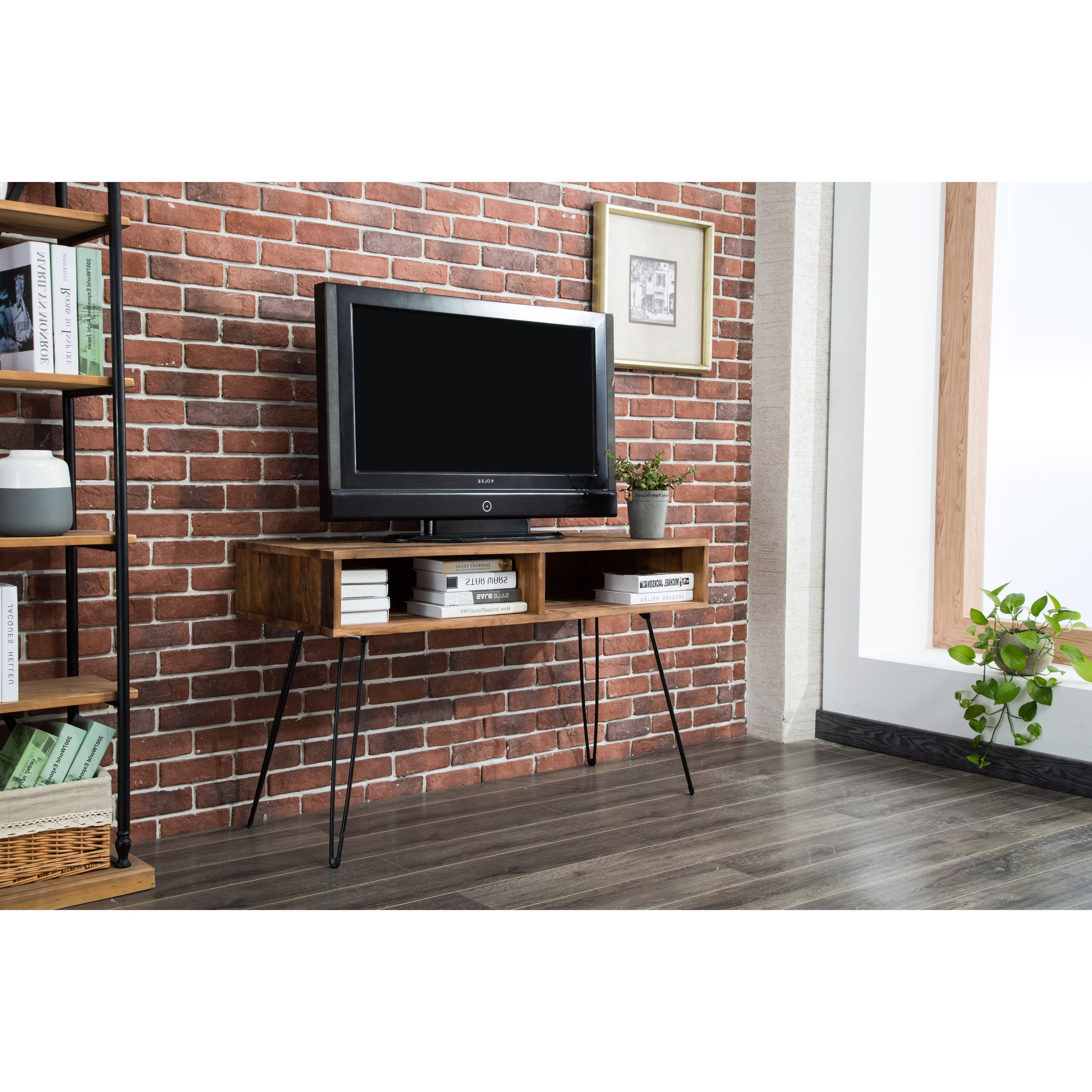 Shop Carbon Loft Lee Reclaimed Fir 48 Inch Tv Stand – Ships With Most Recently Released Carbon Loft Lee Reclaimed Fir Eastwood Tables (View 16 of 20)