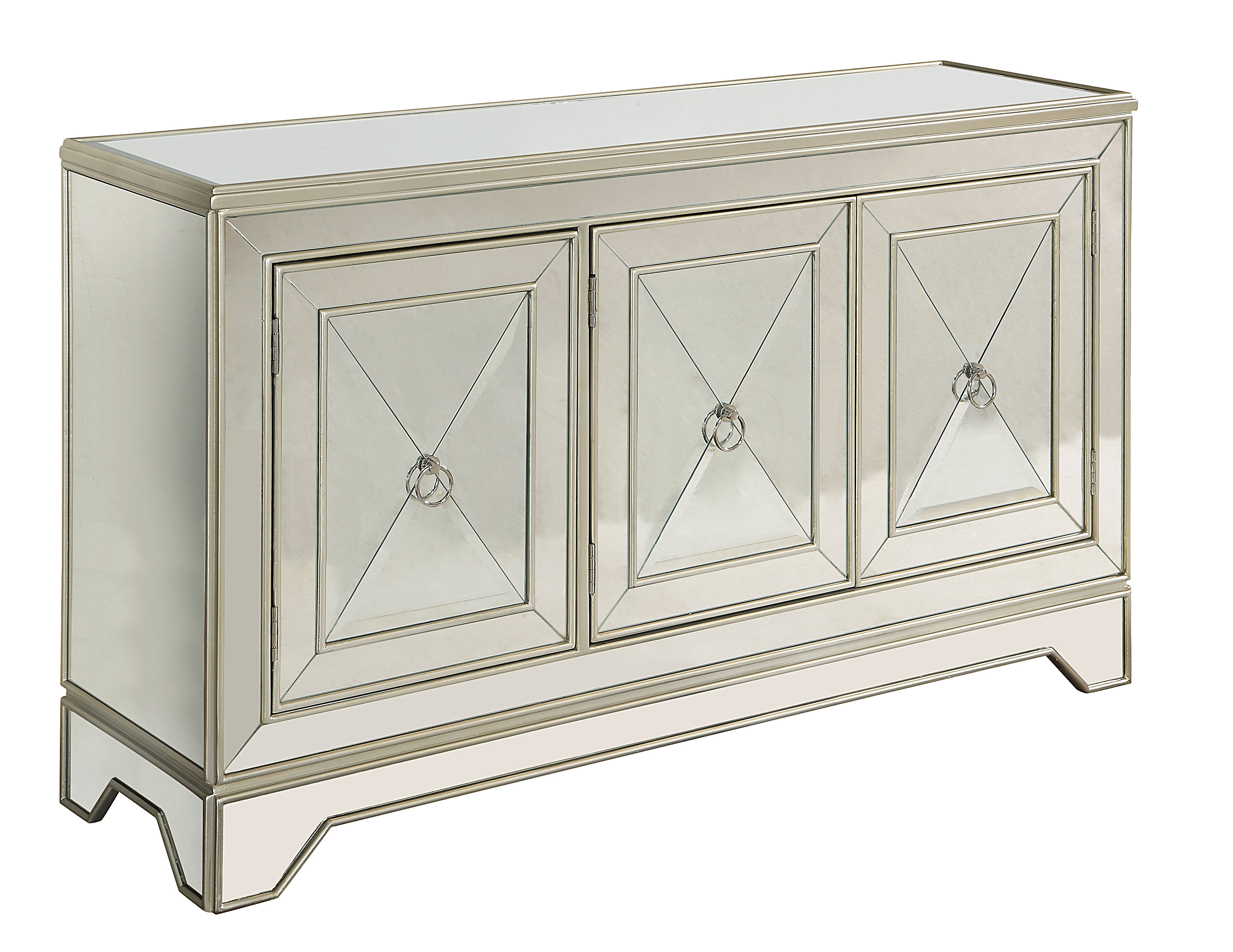 Sideboard / Credenza Mirrored Sideboards | Joss & Main Throughout Senda Credenzas (View 20 of 20)