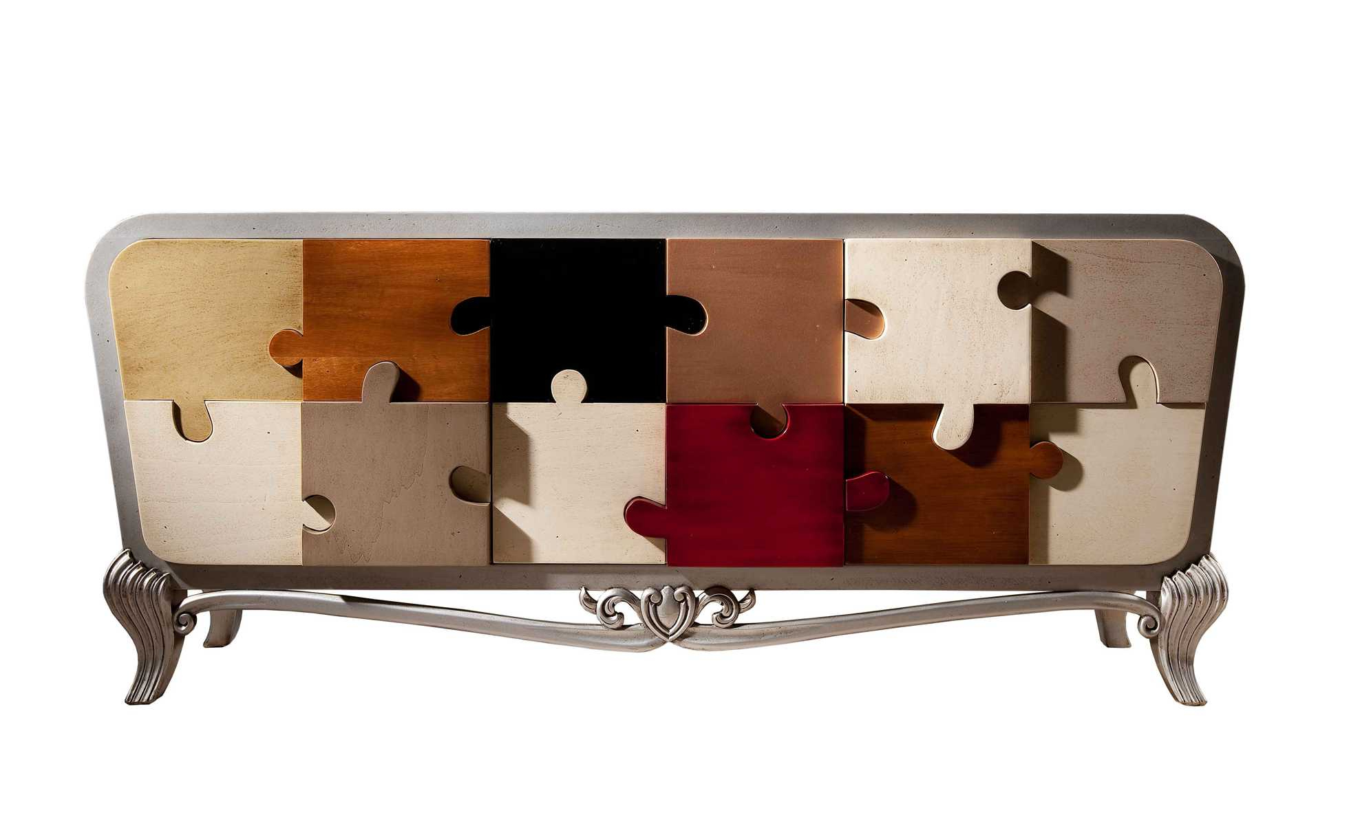 Sideboard Puzlelola Glamour | Archello With Regard To Lola Sideboards (View 17 of 20)