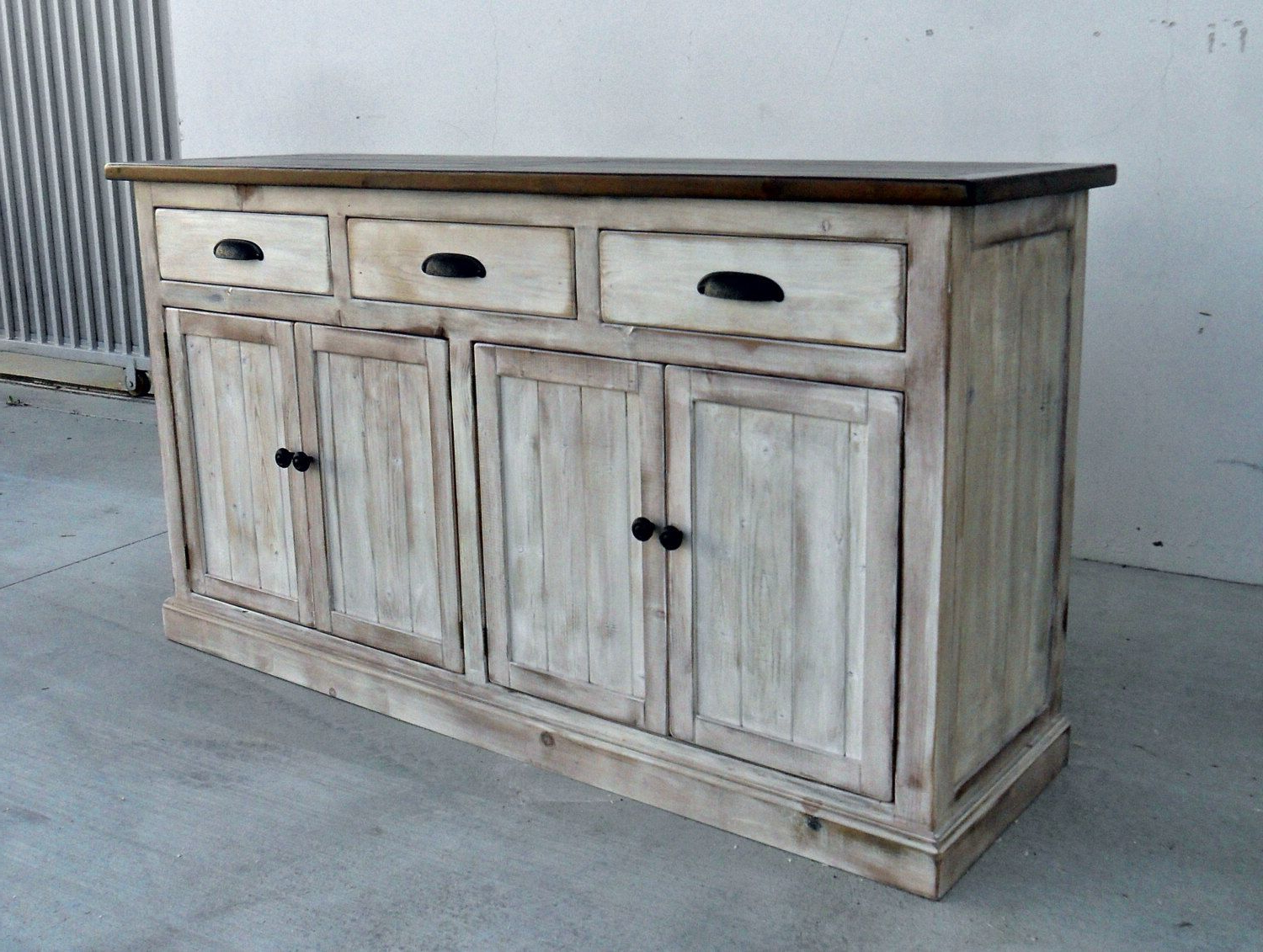 Sideboard, Server, Console Cabinet, Reclaimed Wood, Buffet With Regard To Gertrude Sideboards (View 19 of 20)