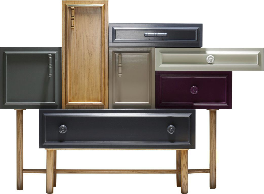Sideboard With Long Legs / Contemporary / Lacquered Wood Throughout Lola Sideboards (View 19 of 20)