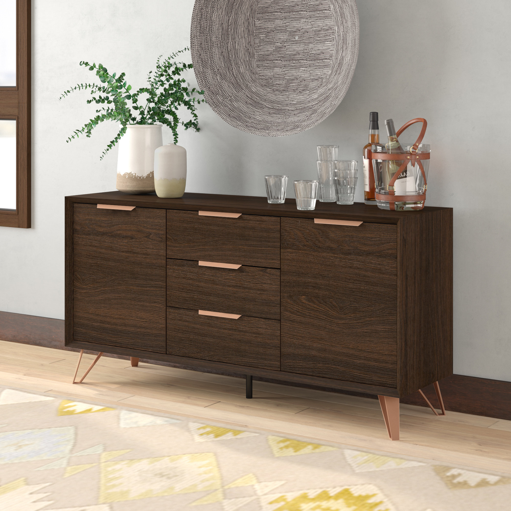 Sideboards & Buffet Tables You'll Love In 2019 | Wayfair With Longley Sideboards (View 9 of 20)