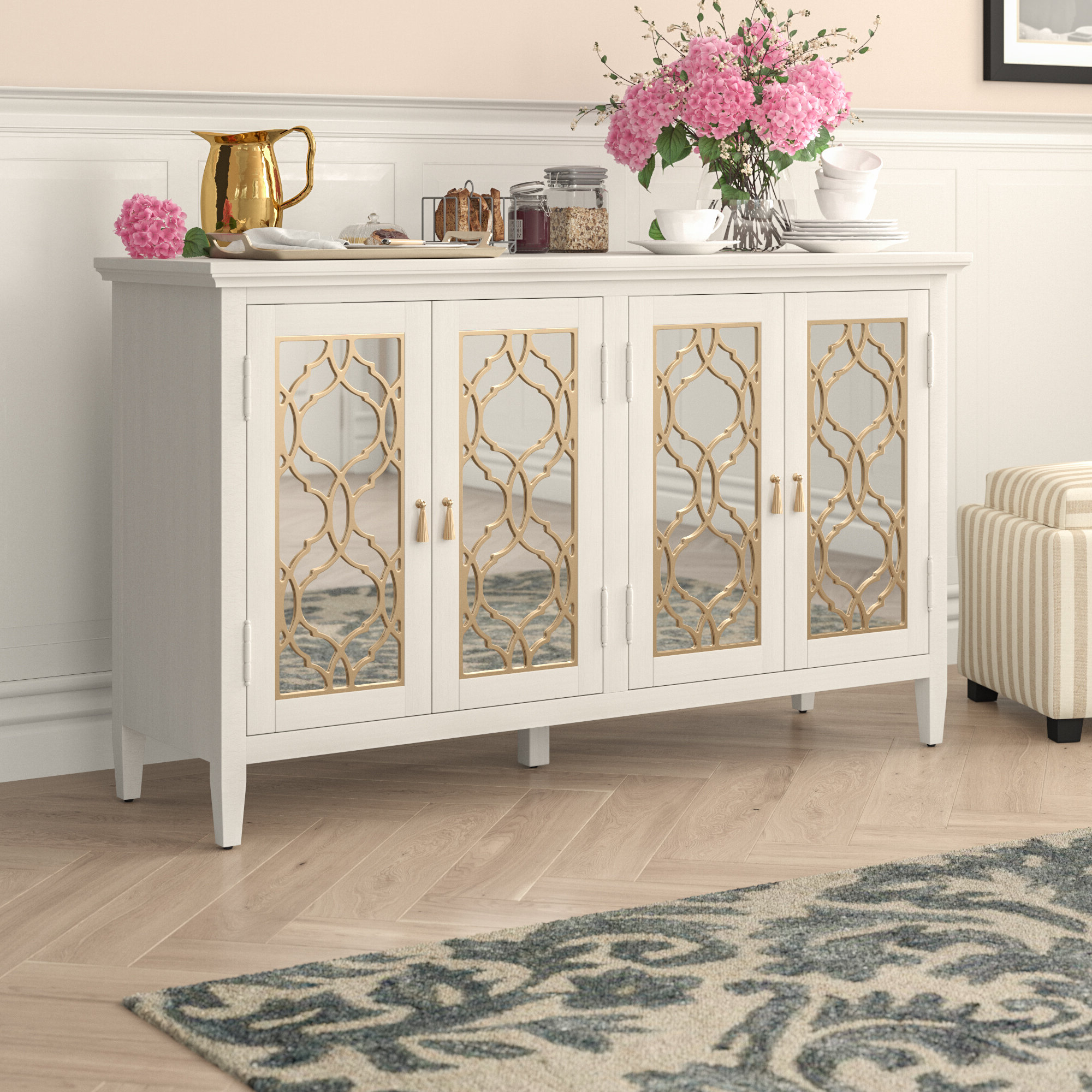 Sideboards & Credenzas You'll Love In 2019 | Wayfair In Emmaline Sideboards (View 7 of 20)