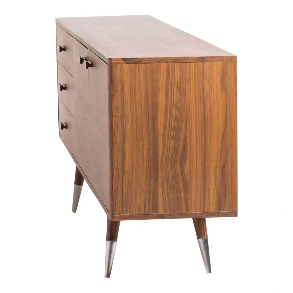 Sienna Sideboard Walnut Large | Products | Moe's Intended For Sienna Sideboards (View 10 of 20)