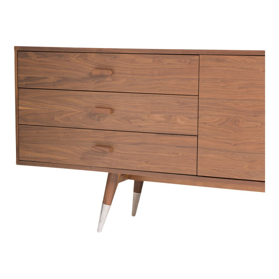 Sienna Sideboard Walnut Large | Products | Moe's Regarding Sienna Sideboards (View 2 of 20)