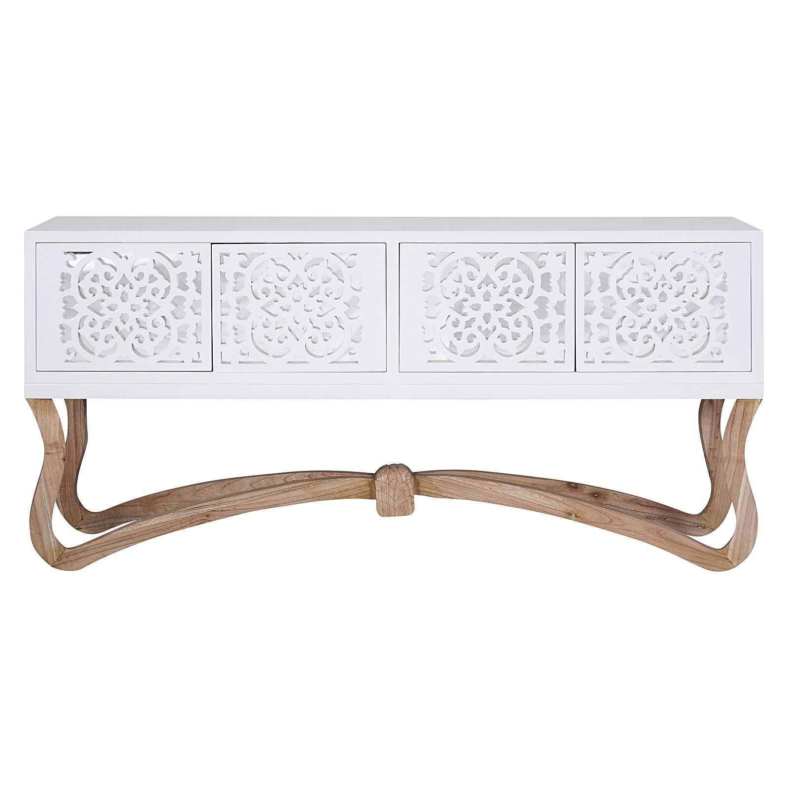 Sienna Sideboard, White, Large Regarding Sienna Sideboards (View 12 of 20)
