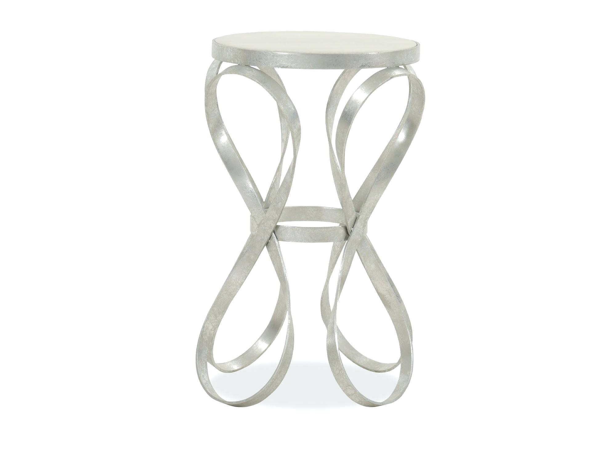 Silver End Table Round – Lavernrison (View 20 of 20)