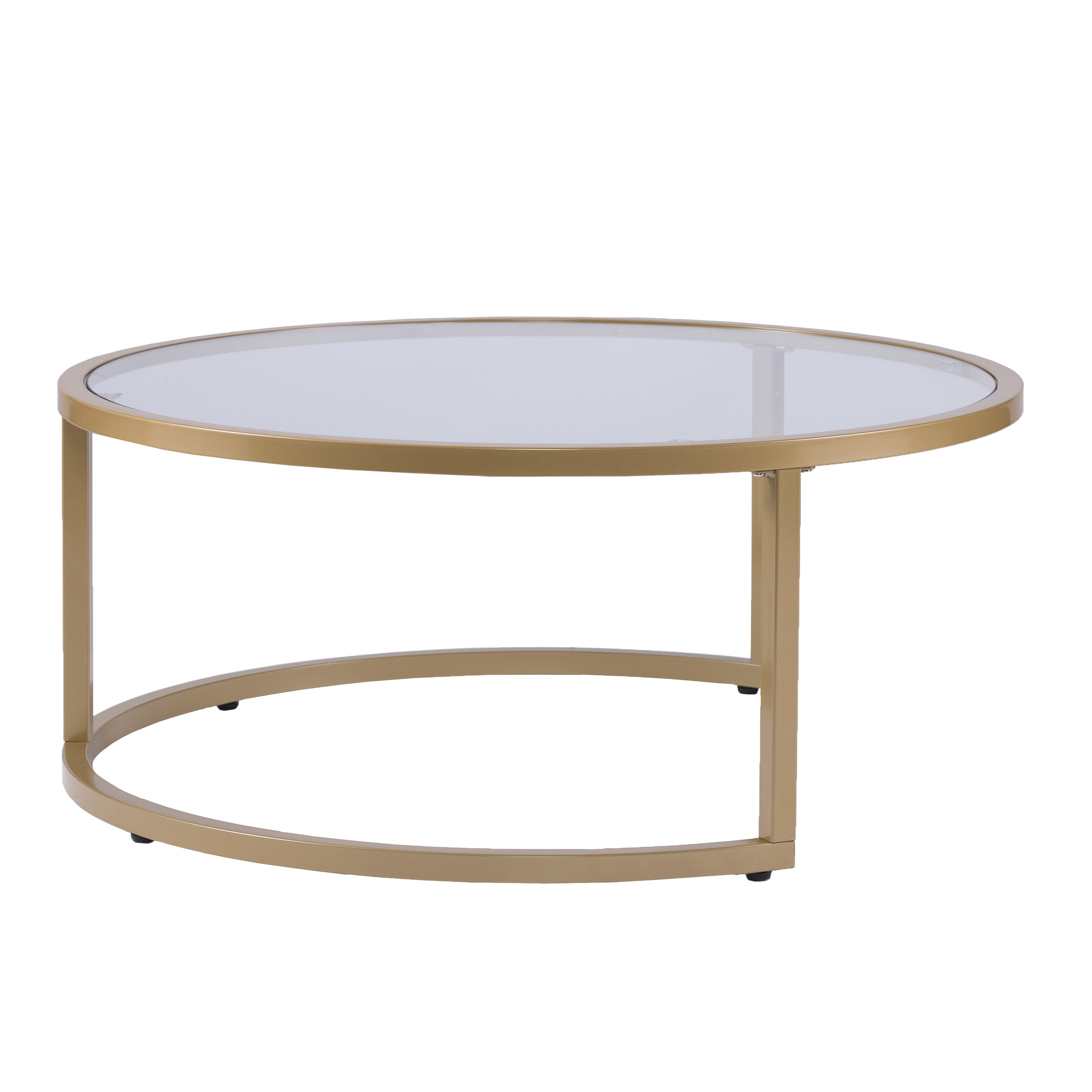 Silver Orchid Grant Glam Nesting Cocktail Table 2 Piece Set With Regard To 2019 Silver Orchid Grant Glam Nesting Cocktail Tables (View 5 of 20)