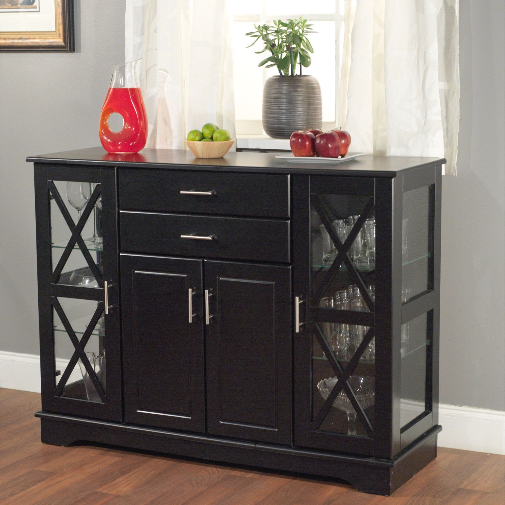 Simple Living Kendall Buffet (Black) In 2019 | Products Inside Kendall Sideboards (View 16 of 20)