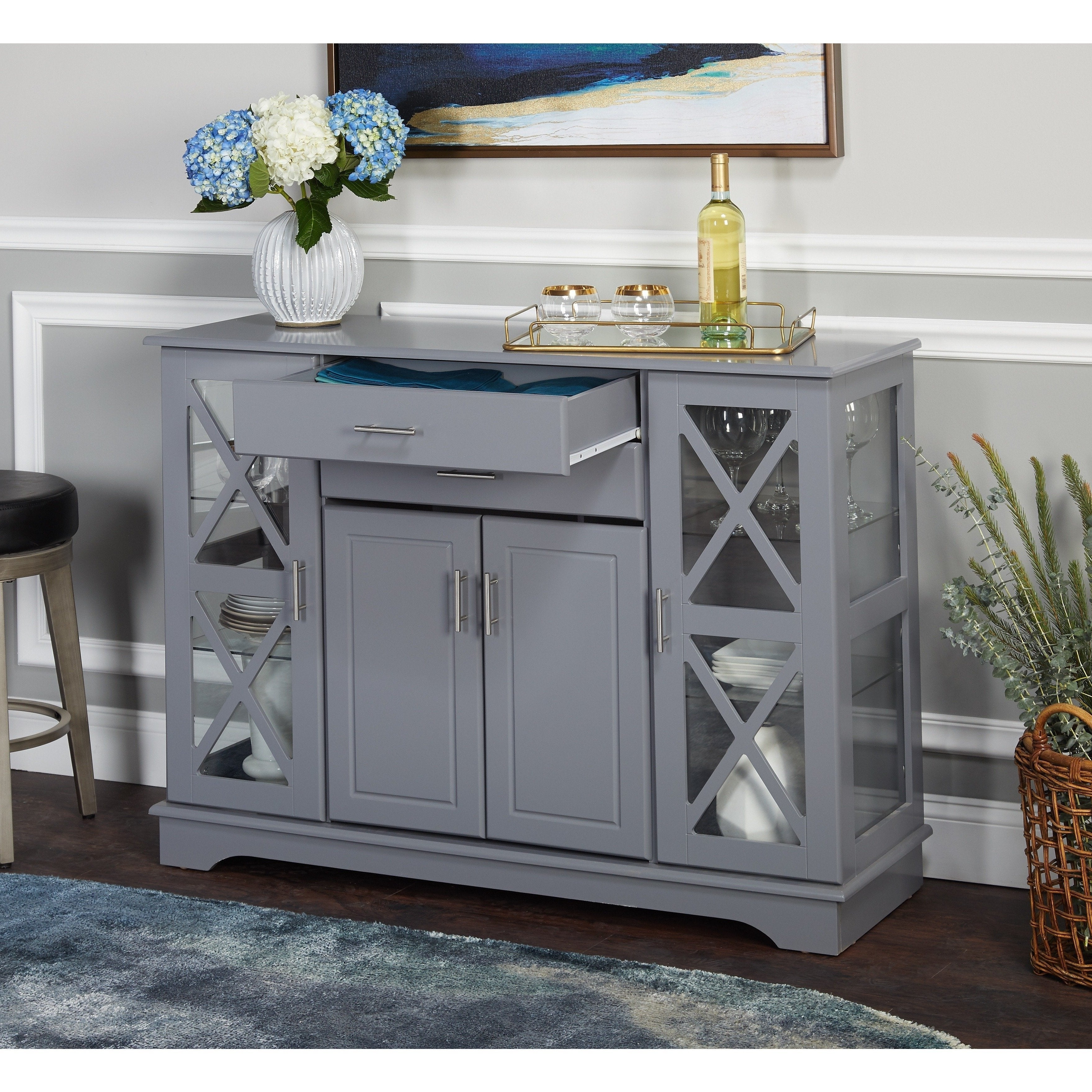 Simple Living Kendall Buffet Intended For Kendall Sideboards (View 17 of 20)