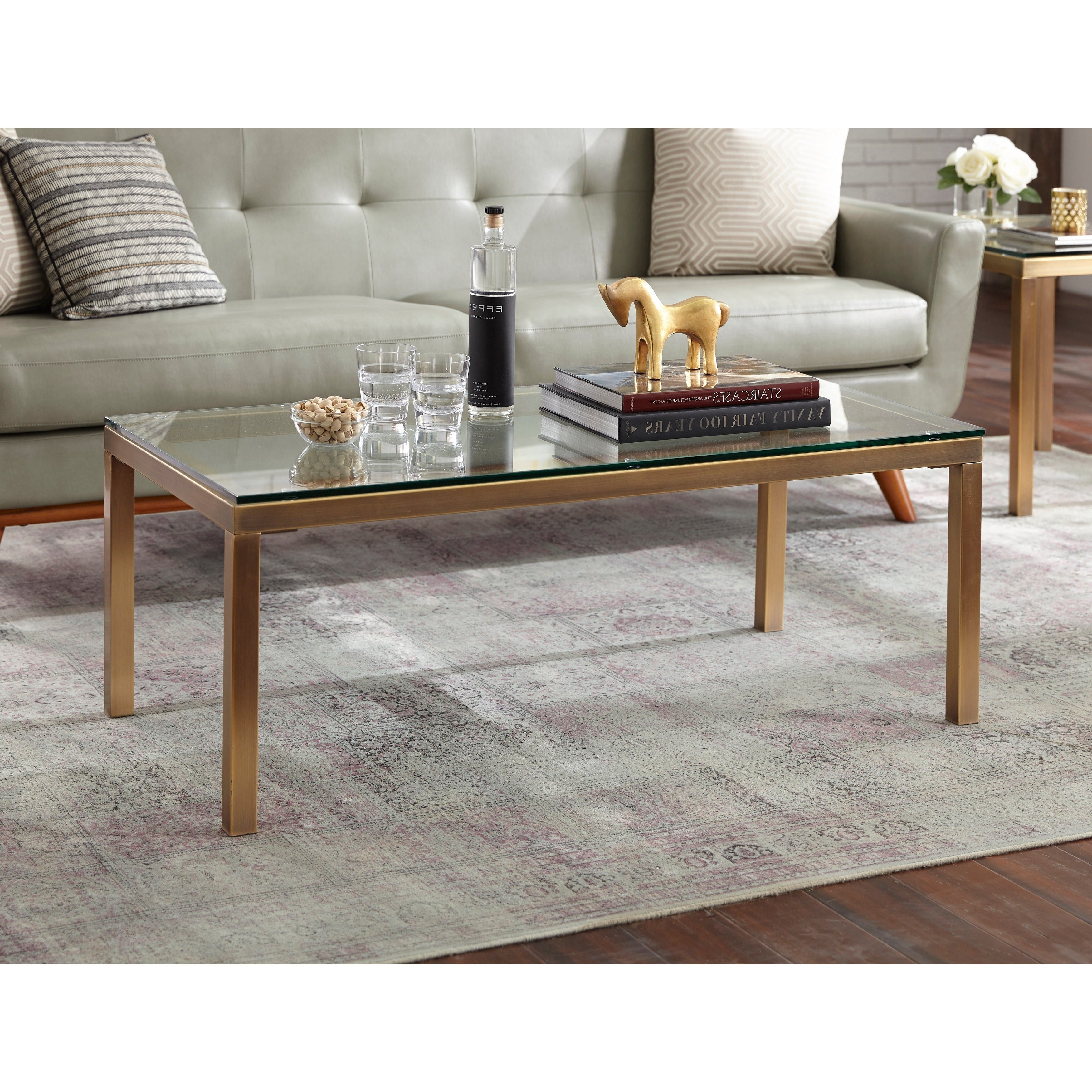 Featured Photo of Simple Living Manhattan Coffee Tables