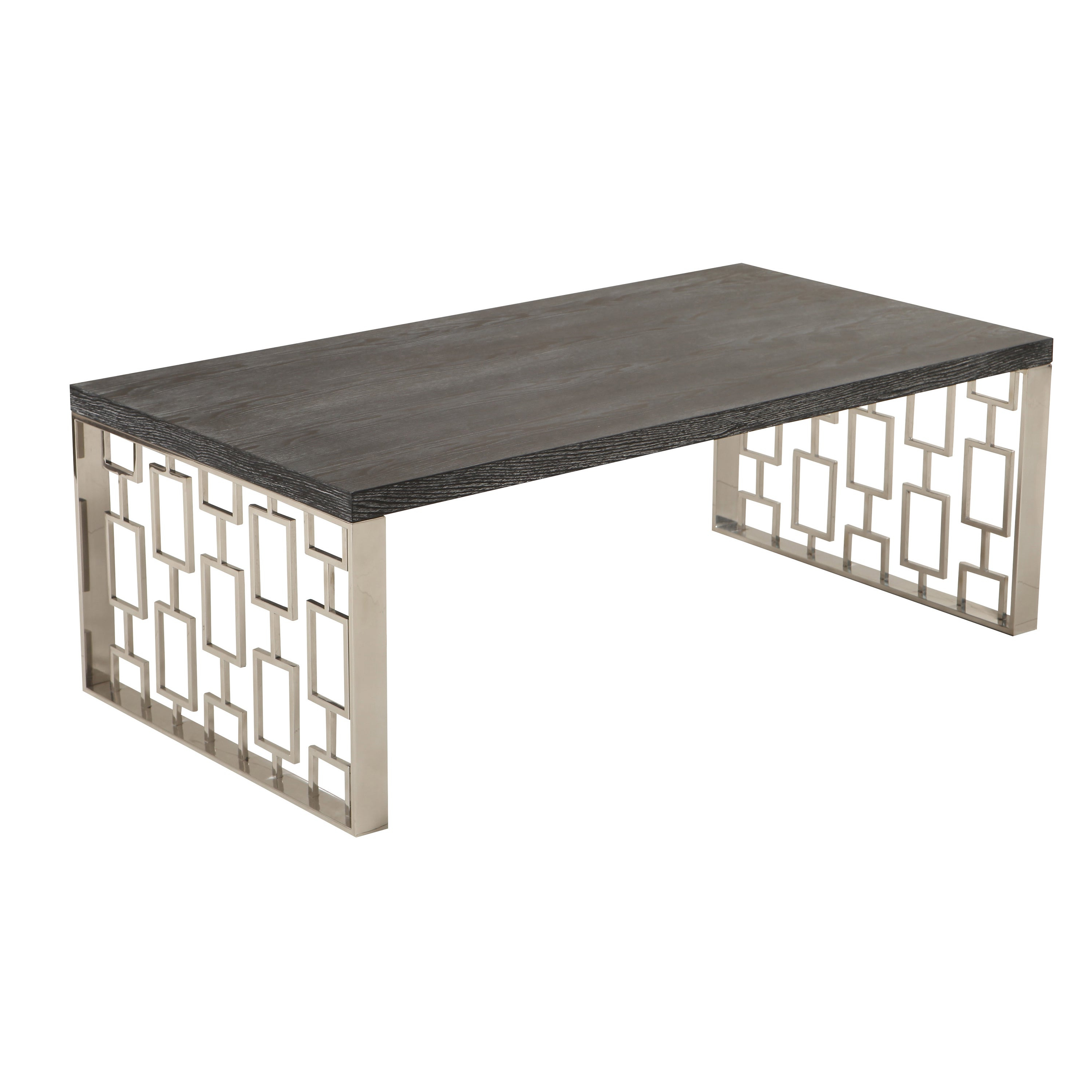Skyline Ash Coffee Table In Fashionable Tribeca Contemporary Distressed Silver And Smoke Grey Coffee Tables (View 14 of 20)