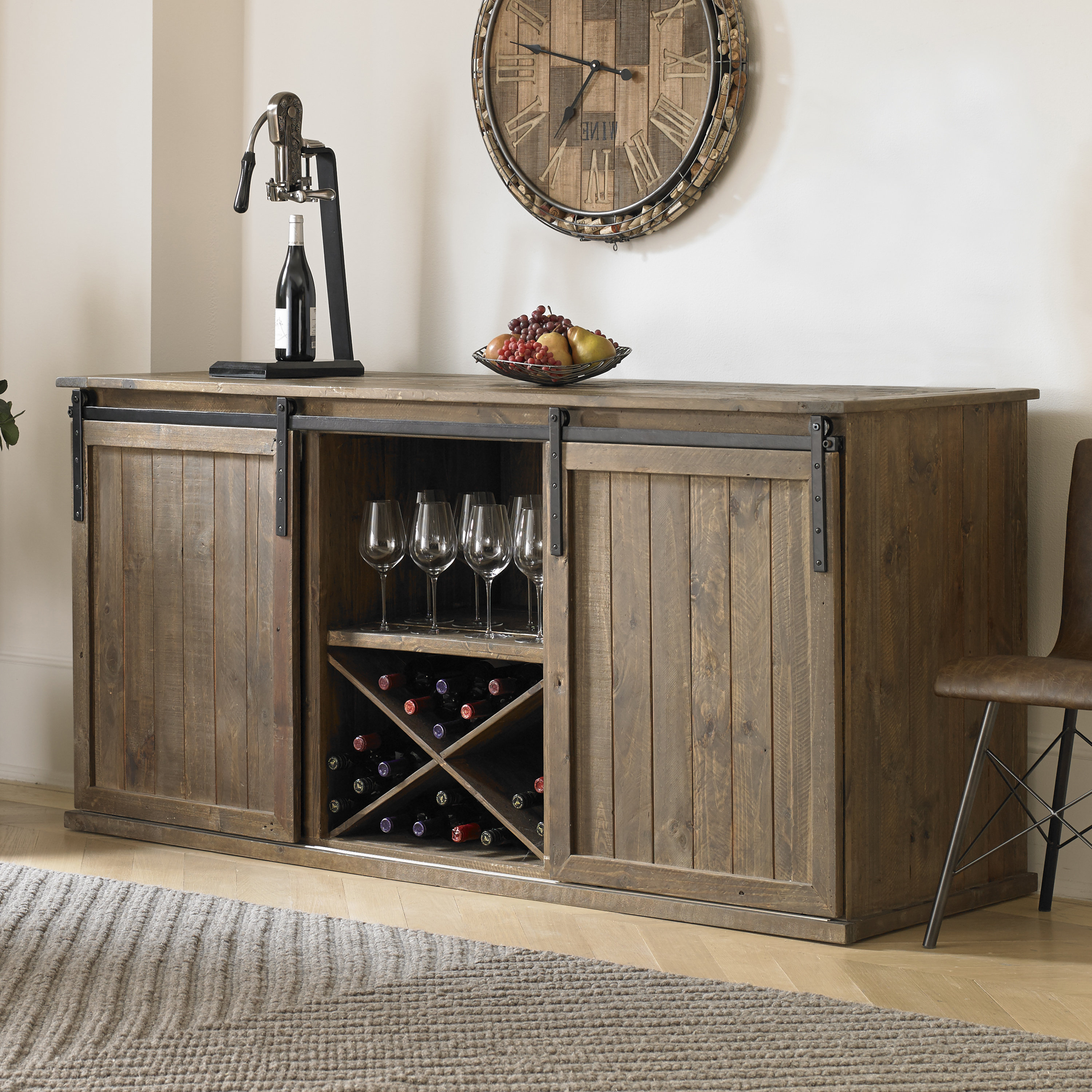 Small Credenza With Doors | Wayfair For Candace Door Credenzas (View 19 of 20)