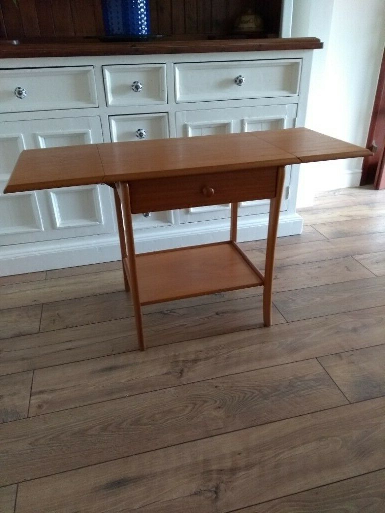 Solid Wood Console/sideboard/side Table | In Ross On Wye, Herefordshire | Gumtree Throughout Rosson Sideboards (View 18 of 20)