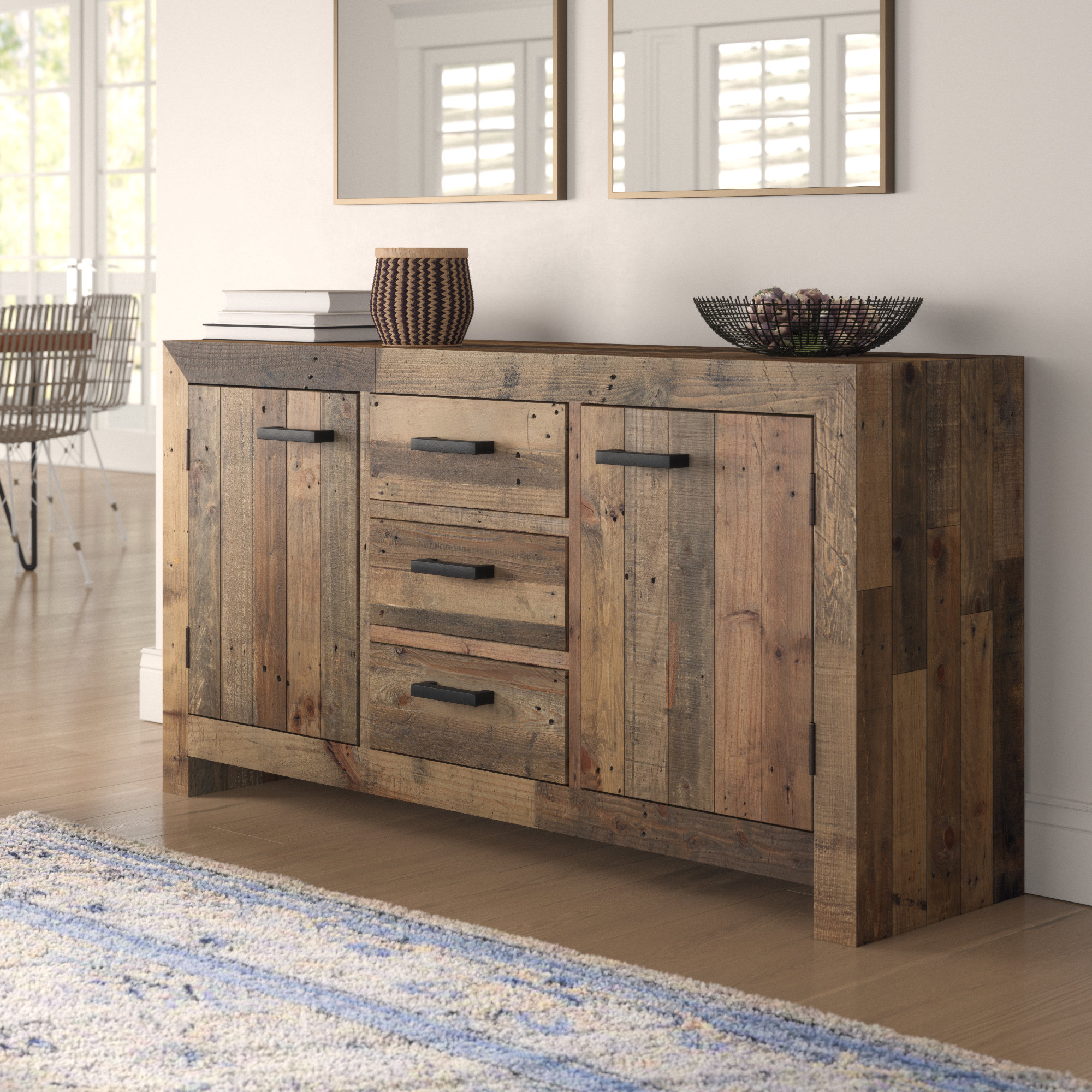 Solid Wood Sideboards & Buffets You'll Love In 2019 | Wayfair (View 16 of 20)