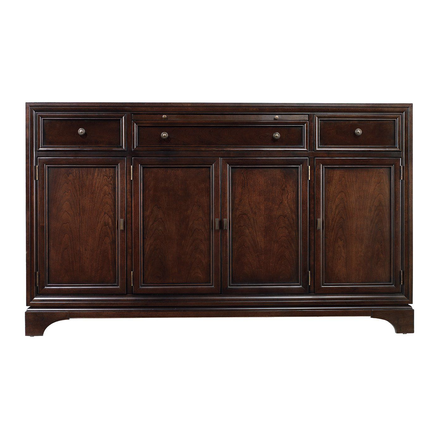 Stanley Furniture 816 61 07 Continuum Buffet Sideboard With Haroun Mocha Sideboards (View 17 of 20)