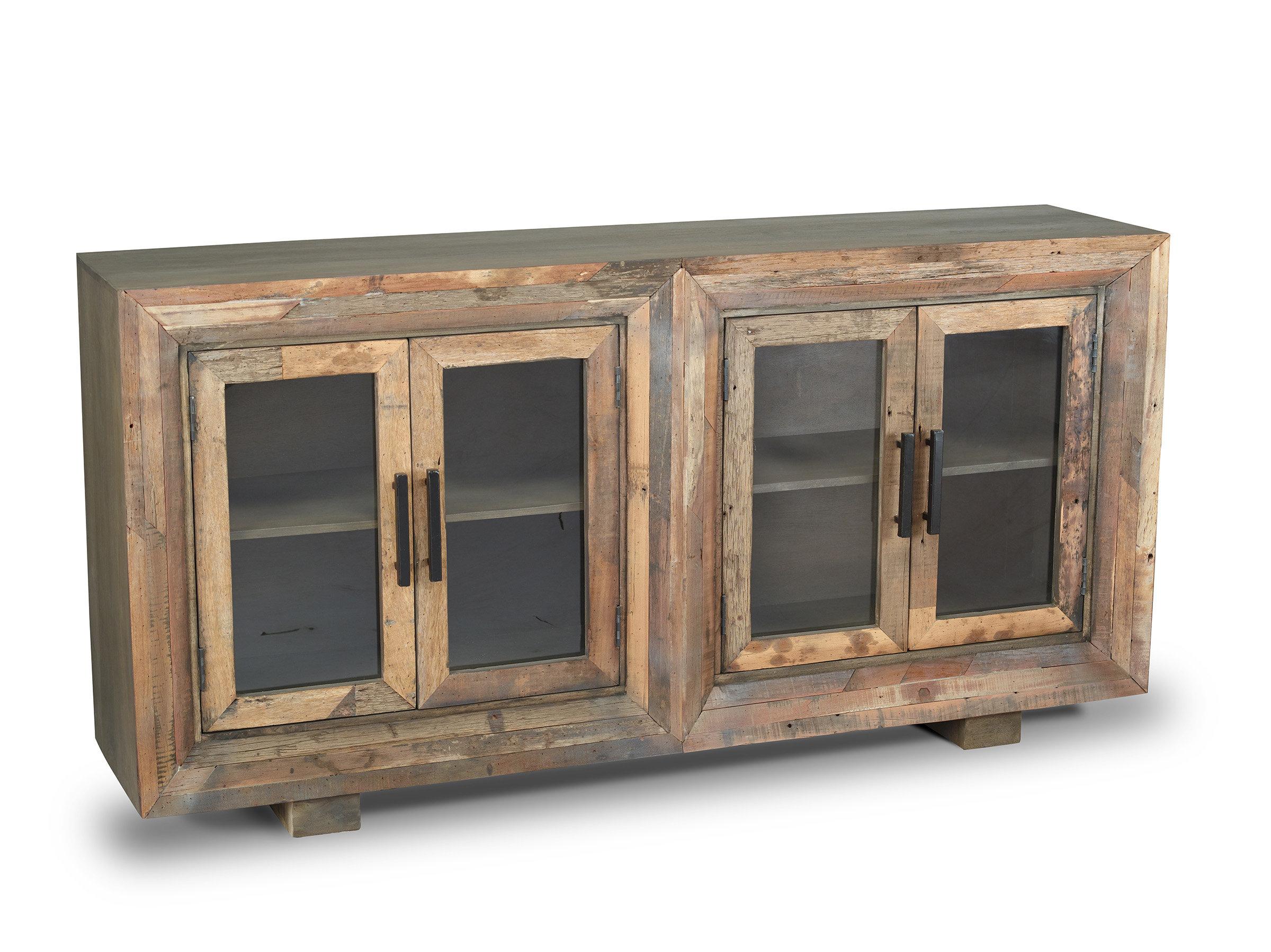 Stender 4 Door Sideboard Regarding Arminta Wood Sideboards (View 9 of 20)