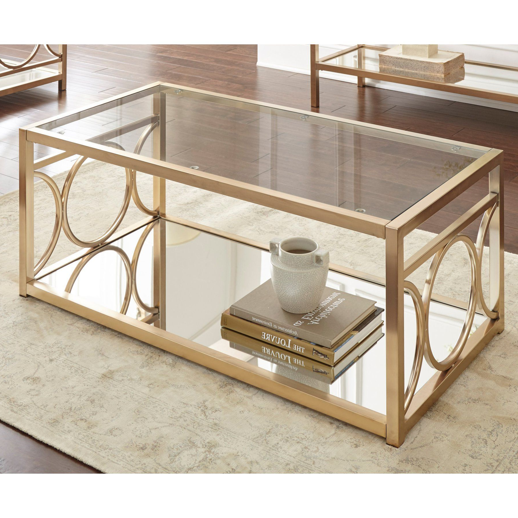 Steve Silver Co Olympia Cocktail Table – Ol100cg (View 16 of 20)