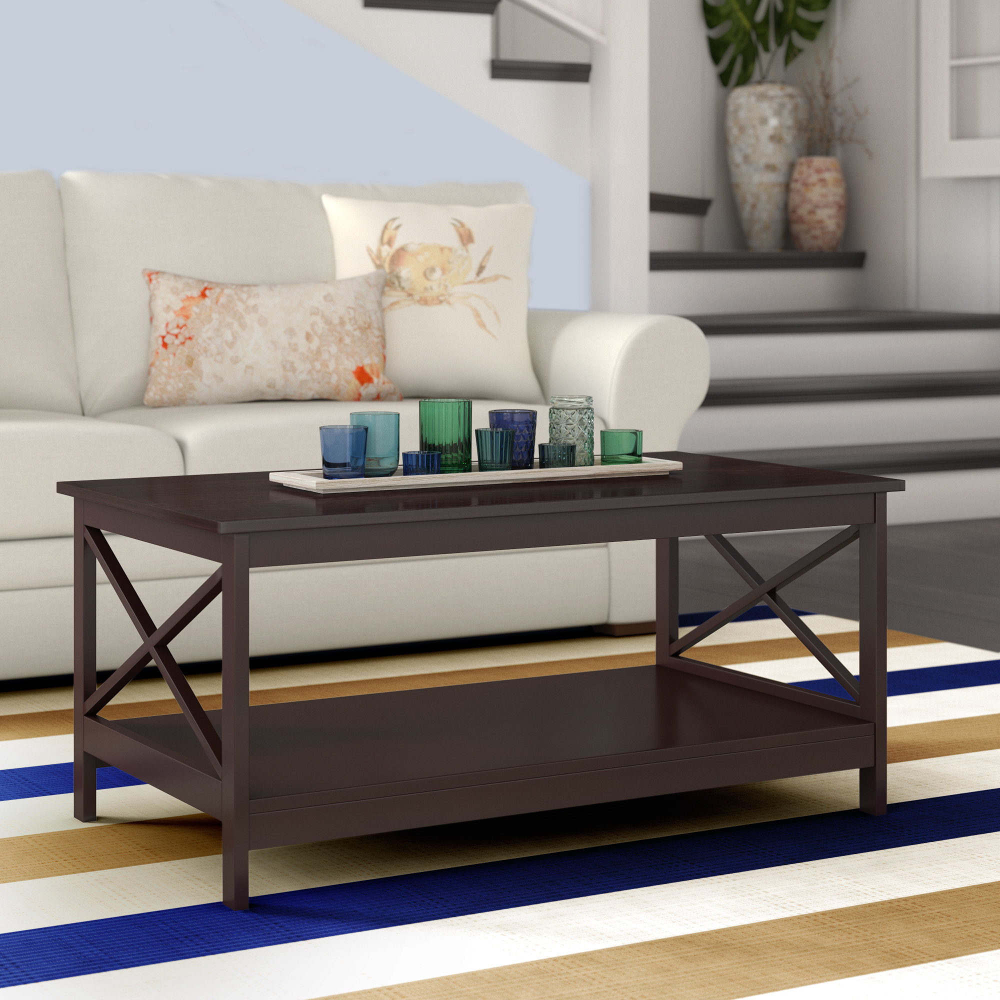 Stoneford Coffee Table Throughout Popular Simple Living Manhattan Coffee Tables (View 6 of 20)