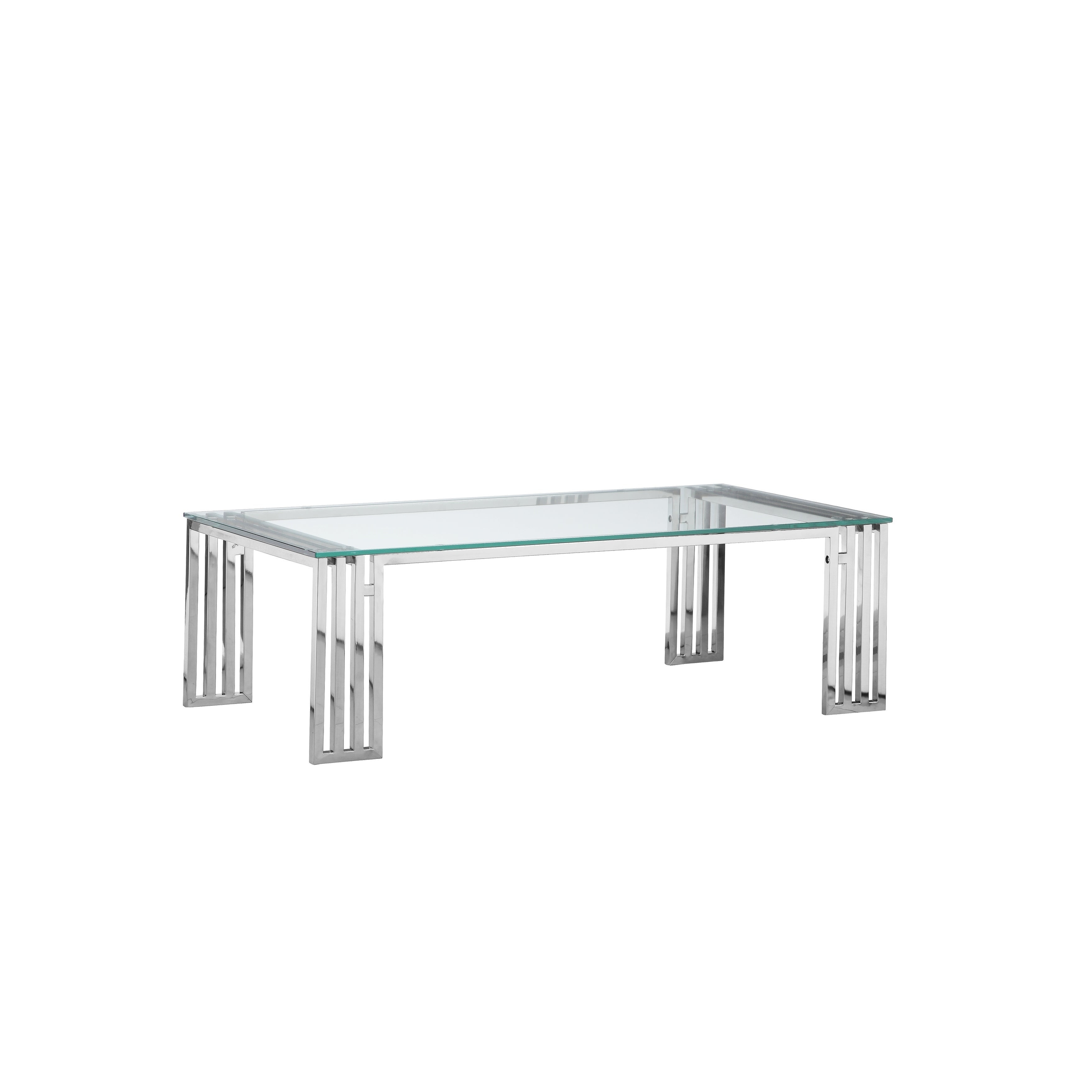 Strick & Bolton Esther Coffee Table Regarding Favorite Strick & Bolton Florence Chrome Coffee Tables (View 17 of 20)