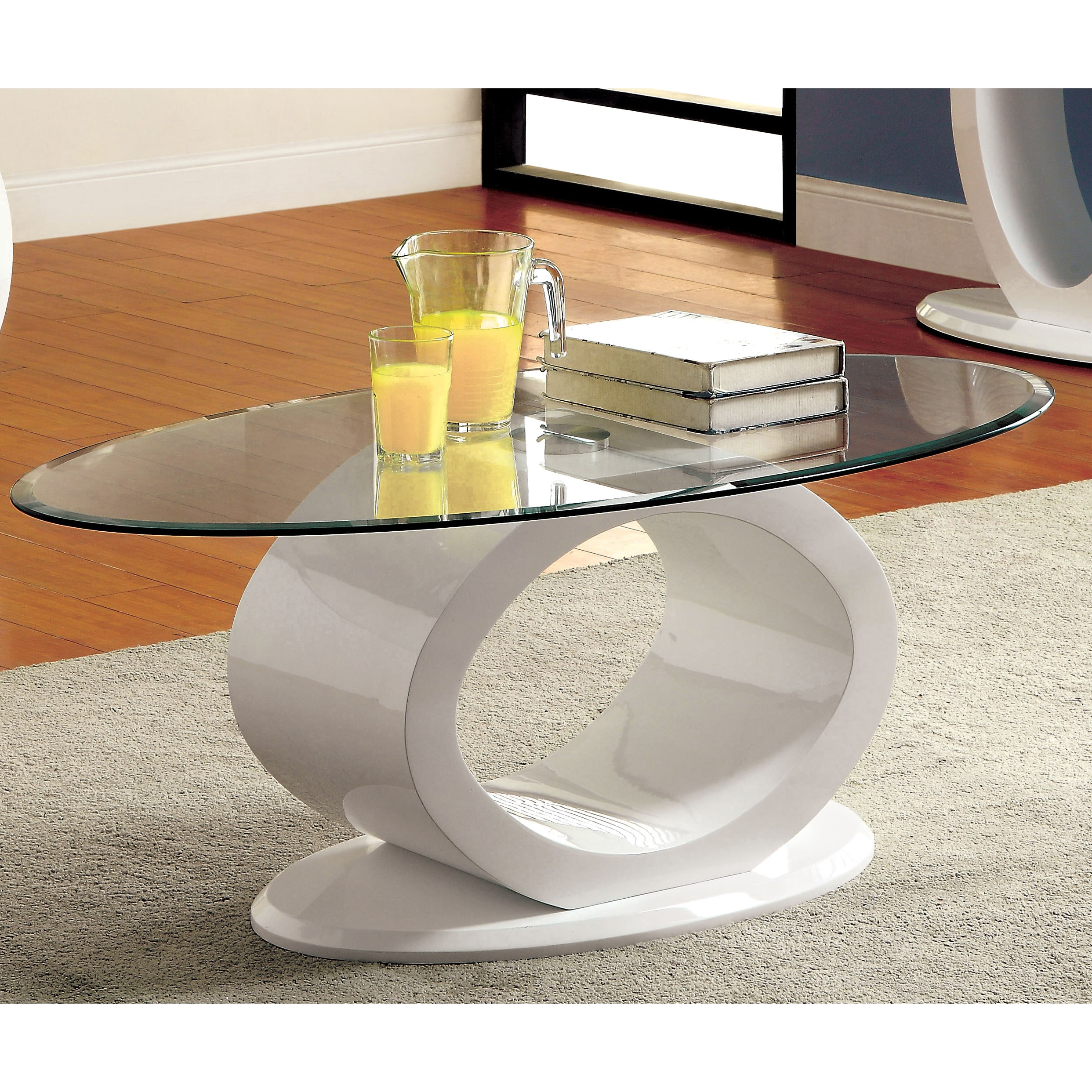 Strick & Bolton Totte O Shaped Coffee Table With Famous Strick & Bolton Totte O Shaped Coffee Tables (View 4 of 20)