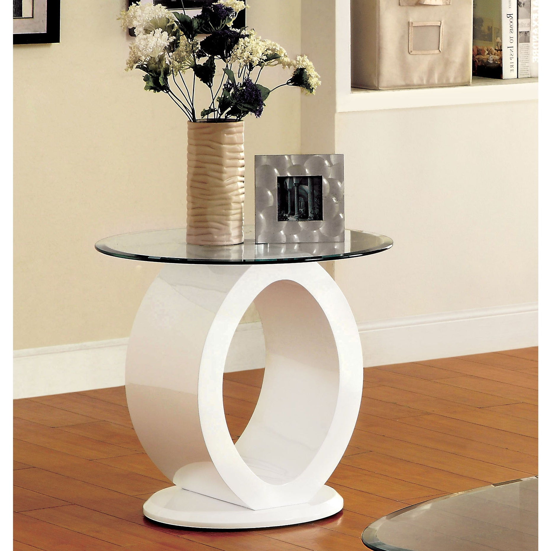 Strick & Bolton Totte O Shaped End Table Regarding Well Known Strick & Bolton Totte O Shaped Coffee Tables (View 7 of 20)