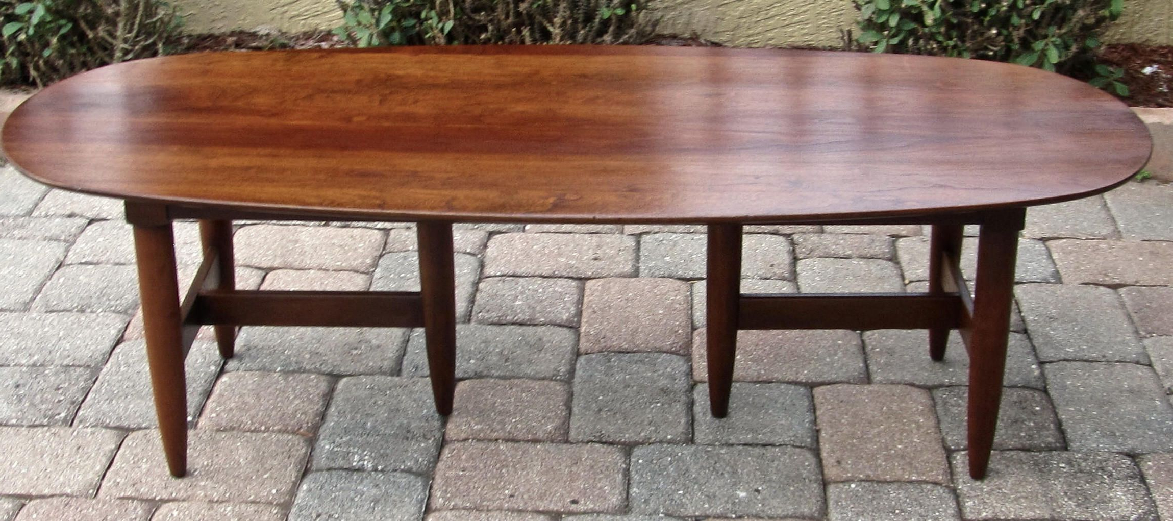 Stuff Intended For Most Recently Released Winslet Cherry Finish Wood Oval Coffee Tables With Casters (View 7 of 20)