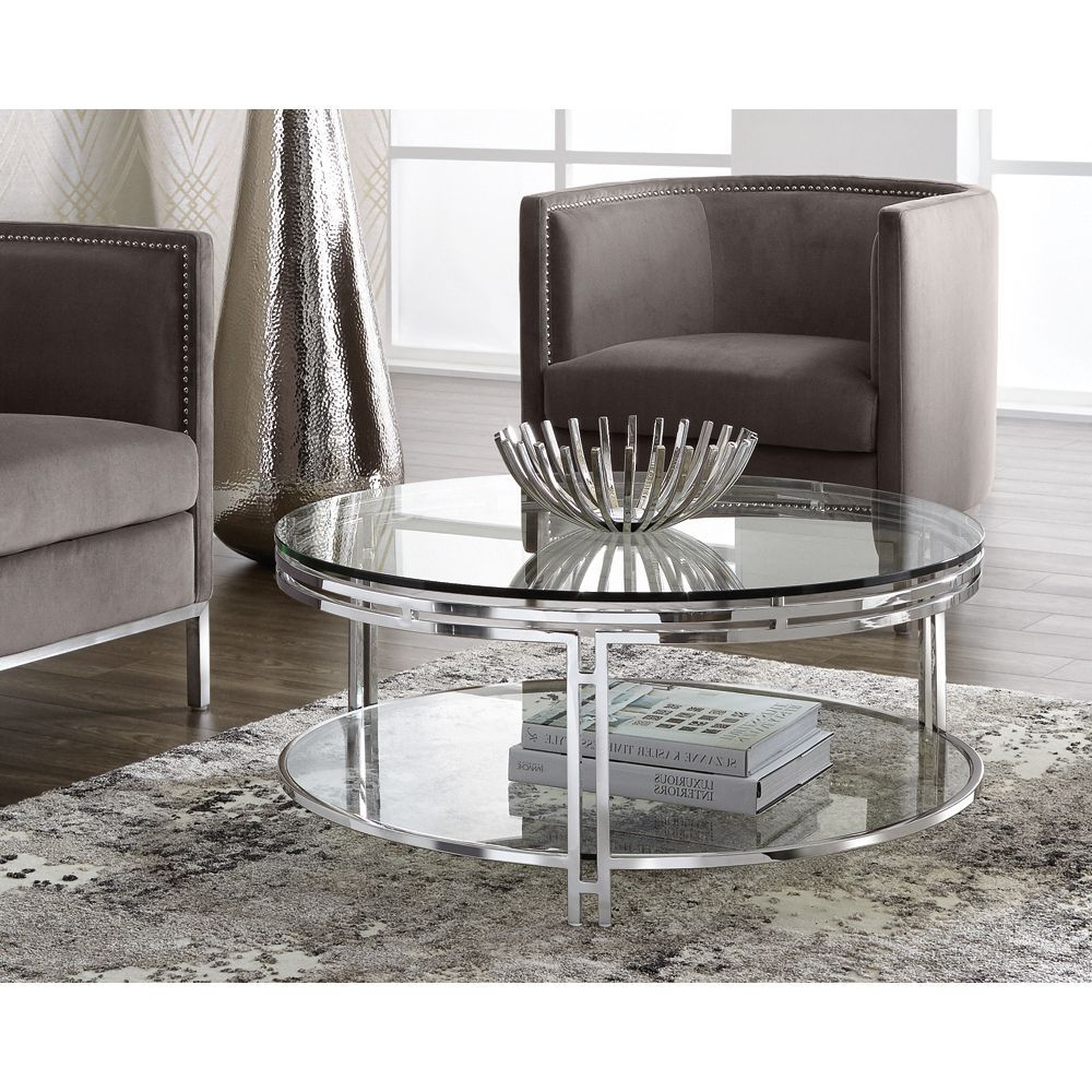 Sunpan Andros Coffee (Brown) Table (Grey) In  (View 16 of 20)