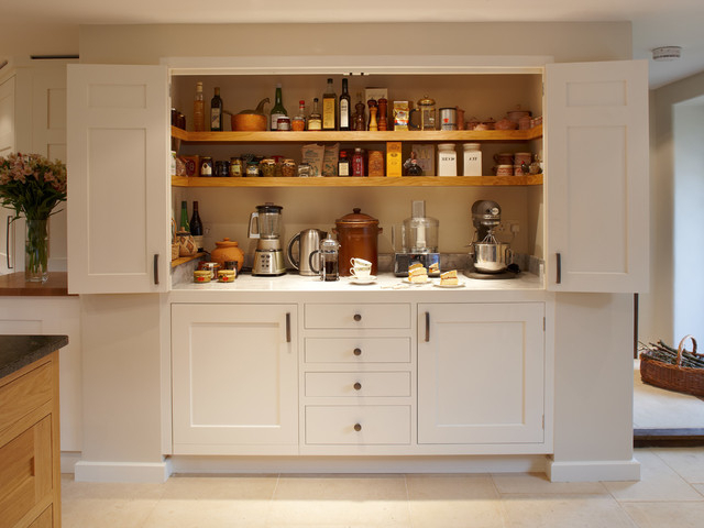 Sweet Traditional Kitchen Hide Garbage Cans Decoratively With Most Recent Garlock Kitchen Pantry (View 16 of 20)
