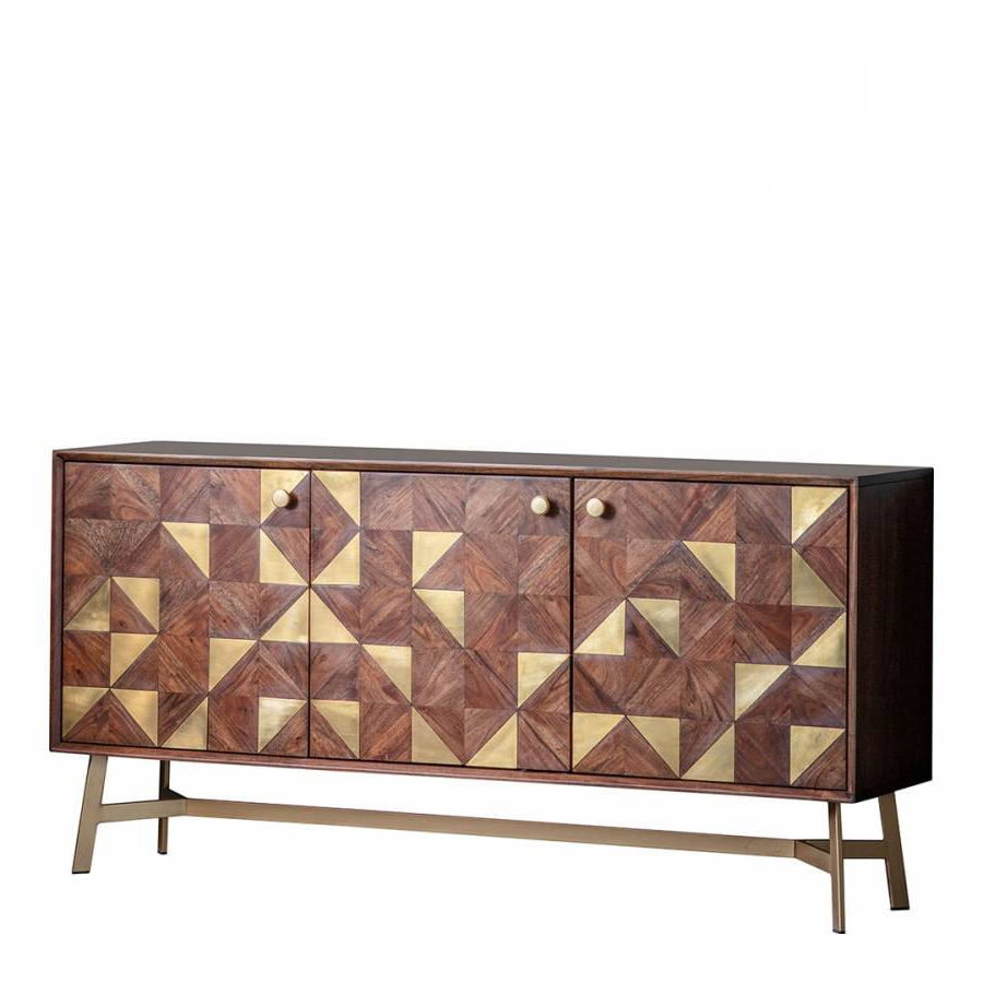 Tate 3 Door Sideboard – Brandalley In Tate Sideboards (View 3 of 20)