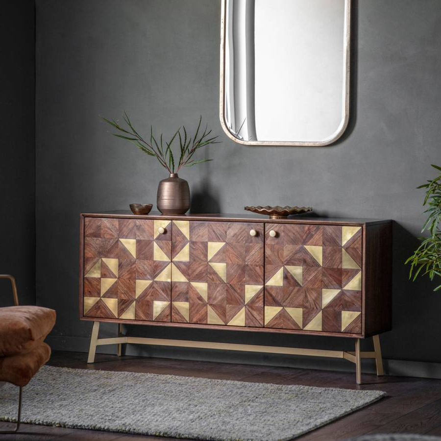 Tate 3 Door Sideboard – Brandalley Throughout Tate Sideboards (View 11 of 20)