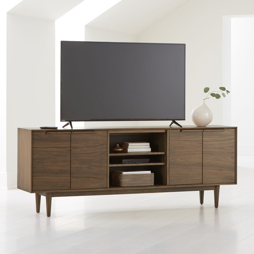 """Tate Walnut 80"""" Media Console 