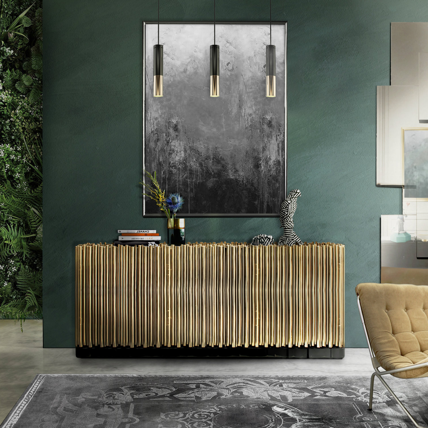The Best Metal Sideboards For A Welcoming Entrance Foyer In Wattisham Sideboards (View 10 of 20)