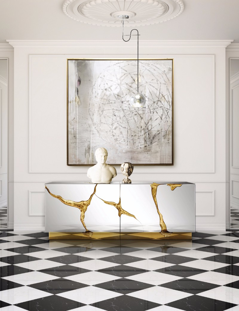 The Best Metal Sideboards For A Welcoming Entrance Foyer With Wattisham Sideboards (View 11 of 20)
