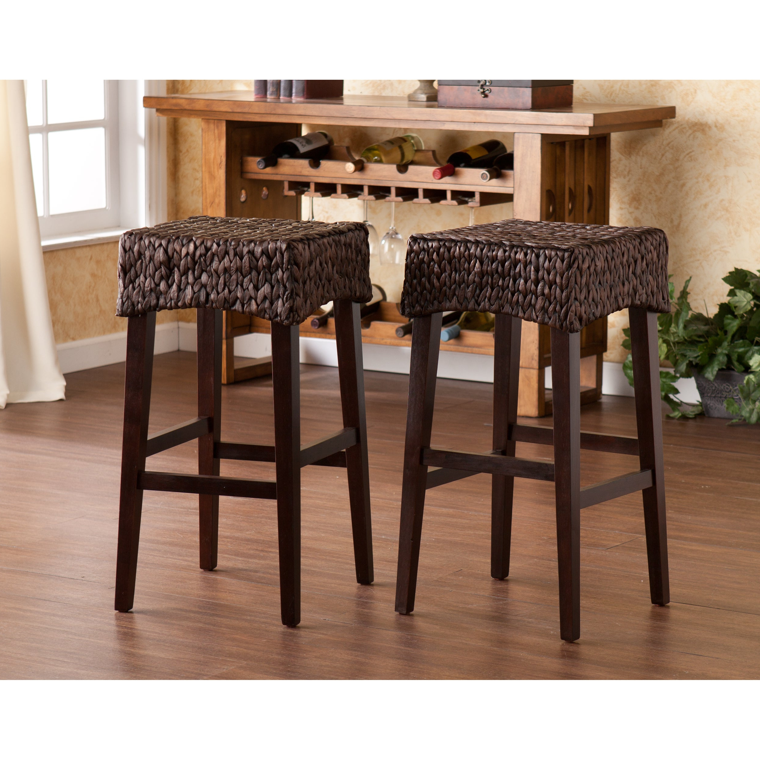 The Curated Nomad Belize Counter Height Stool (Set Of 2) Pertaining To Most Popular The Curated Nomad Belize Woven Cocktail Tables (View 10 of 20)