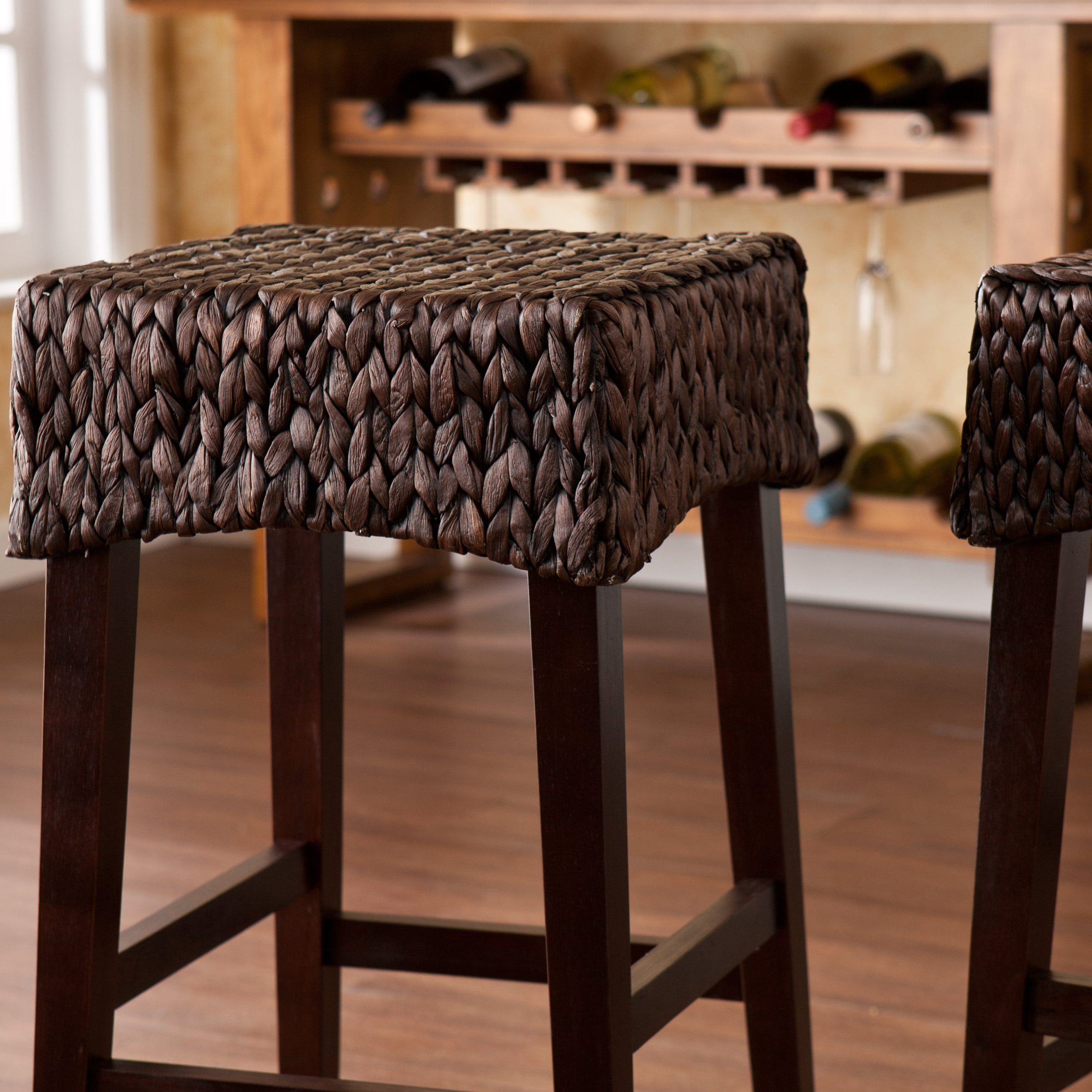 The Curated Nomad Belize Counter Height Stool (Set Of 2) Throughout Widely Used The Curated Nomad Belize Woven Cocktail Tables (View 12 of 20)