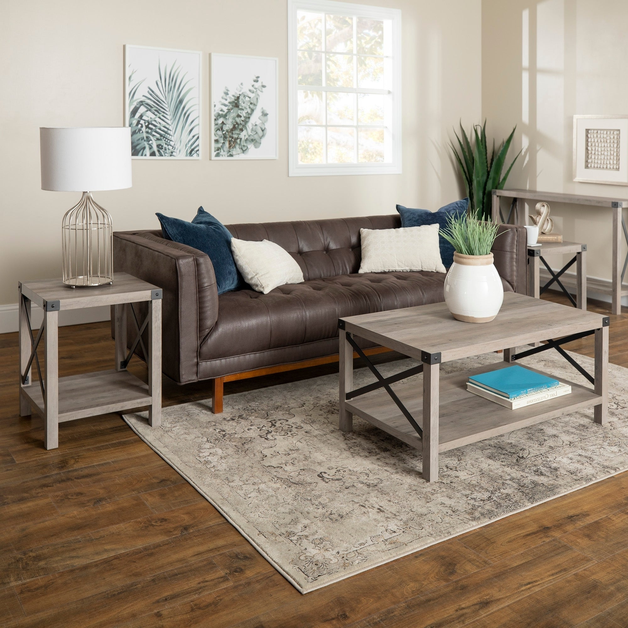 The Gray Barn 3 Piece Metal X Table Set – 40 X 22 X 18h With Preferred The Gray Barn Kujawa Metal X Coffee Tables – 40 X 22 X 18h (View 20 of 20)