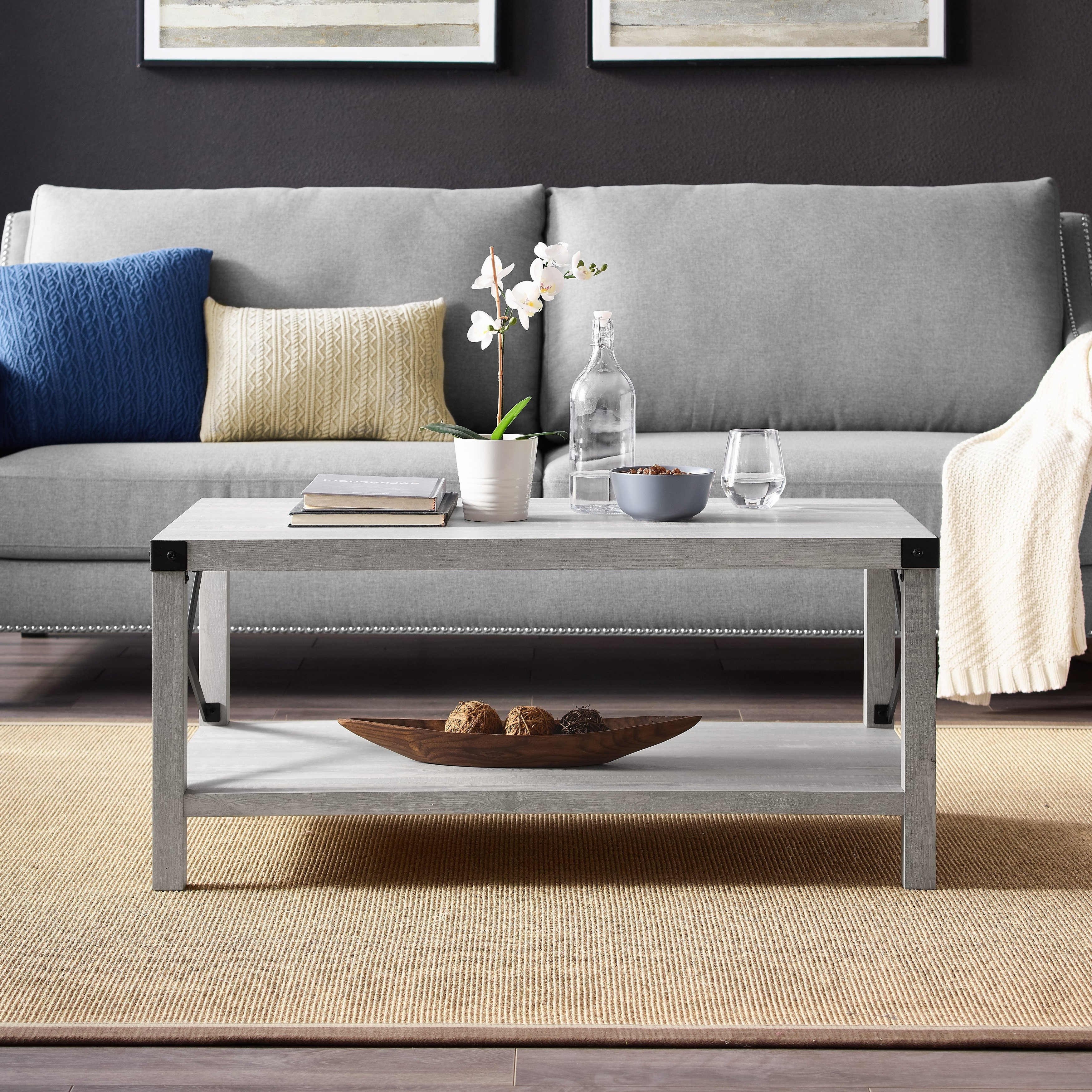The Gray Barn Kujawa Metal X Coffee Table – 40 X 22 X 18h Inside Newest The Gray Barn Kujawa Metal X Coffee Tables – 40 X 22 X 18h (View 9 of 20)