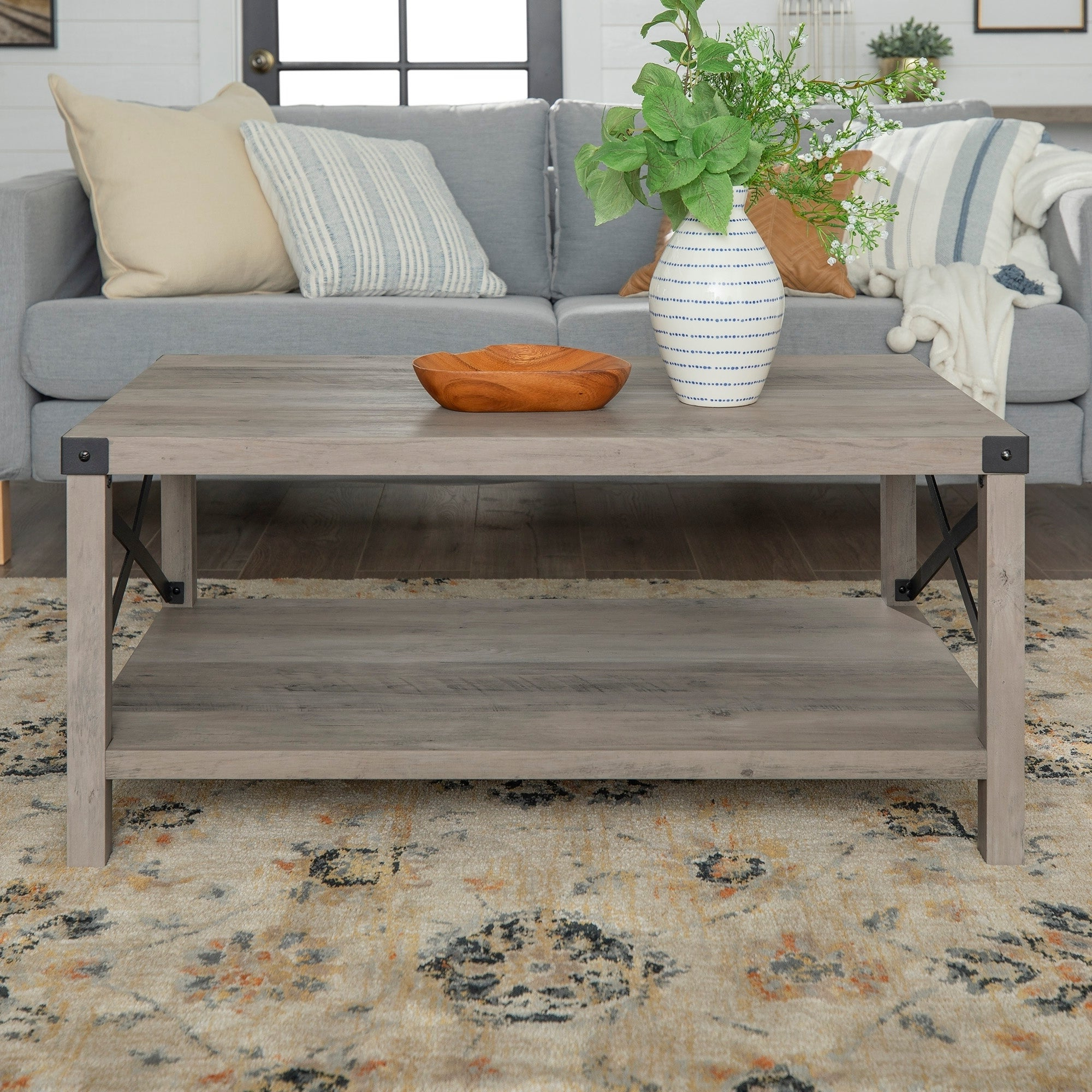 The Gray Barn Kujawa Metal X Coffee Table – 40 X 22 X 18h Pertaining To Best And Newest The Gray Barn Kujawa Metal X Coffee Tables – 40 X 22 X 18h (View 6 of 20)