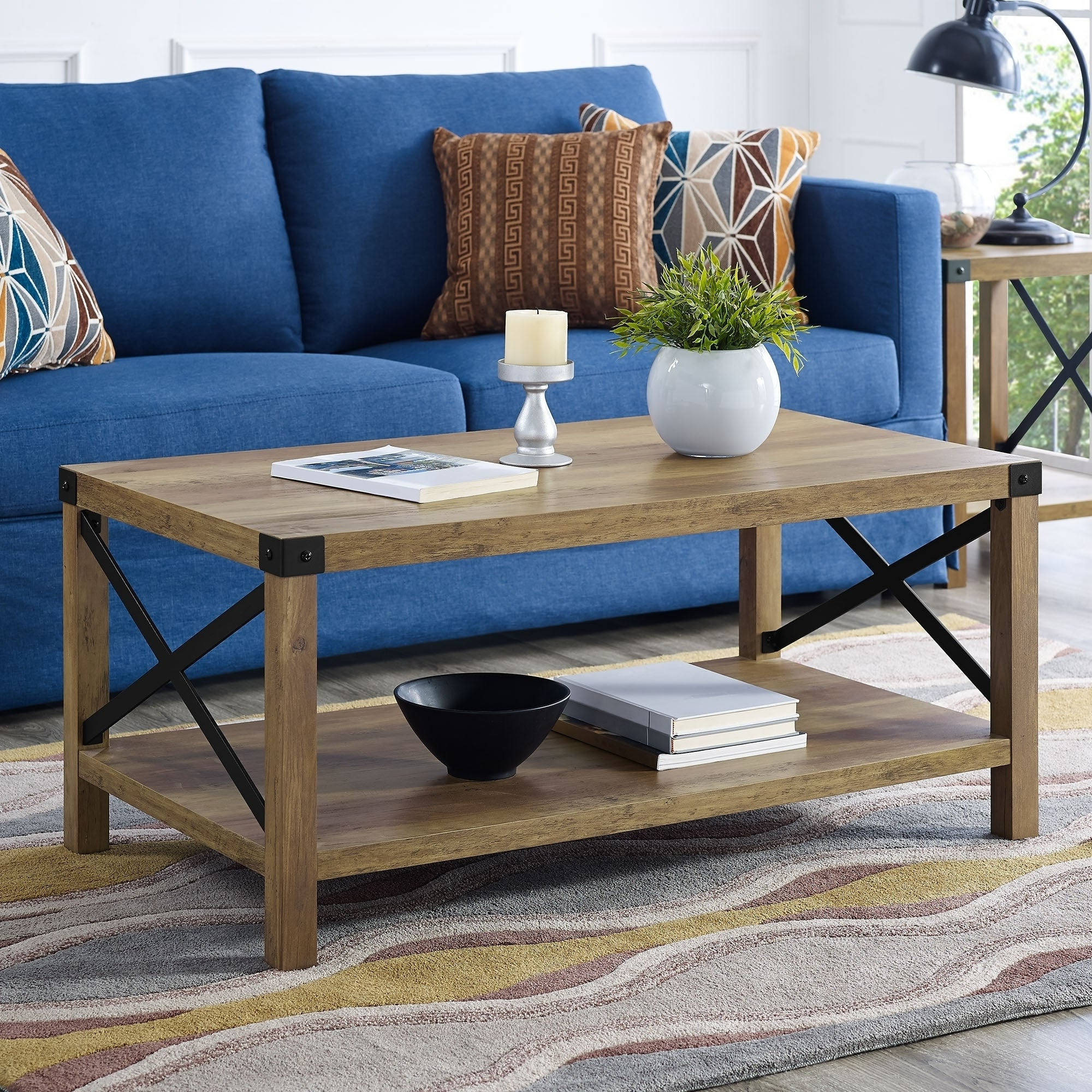 The Gray Barn Kujawa Metal X Coffee Table – 40 X 22 X 18h Within Recent The Gray Barn Kujawa Metal X Coffee Tables – 40 X 22 X 18h (View 8 of 20)