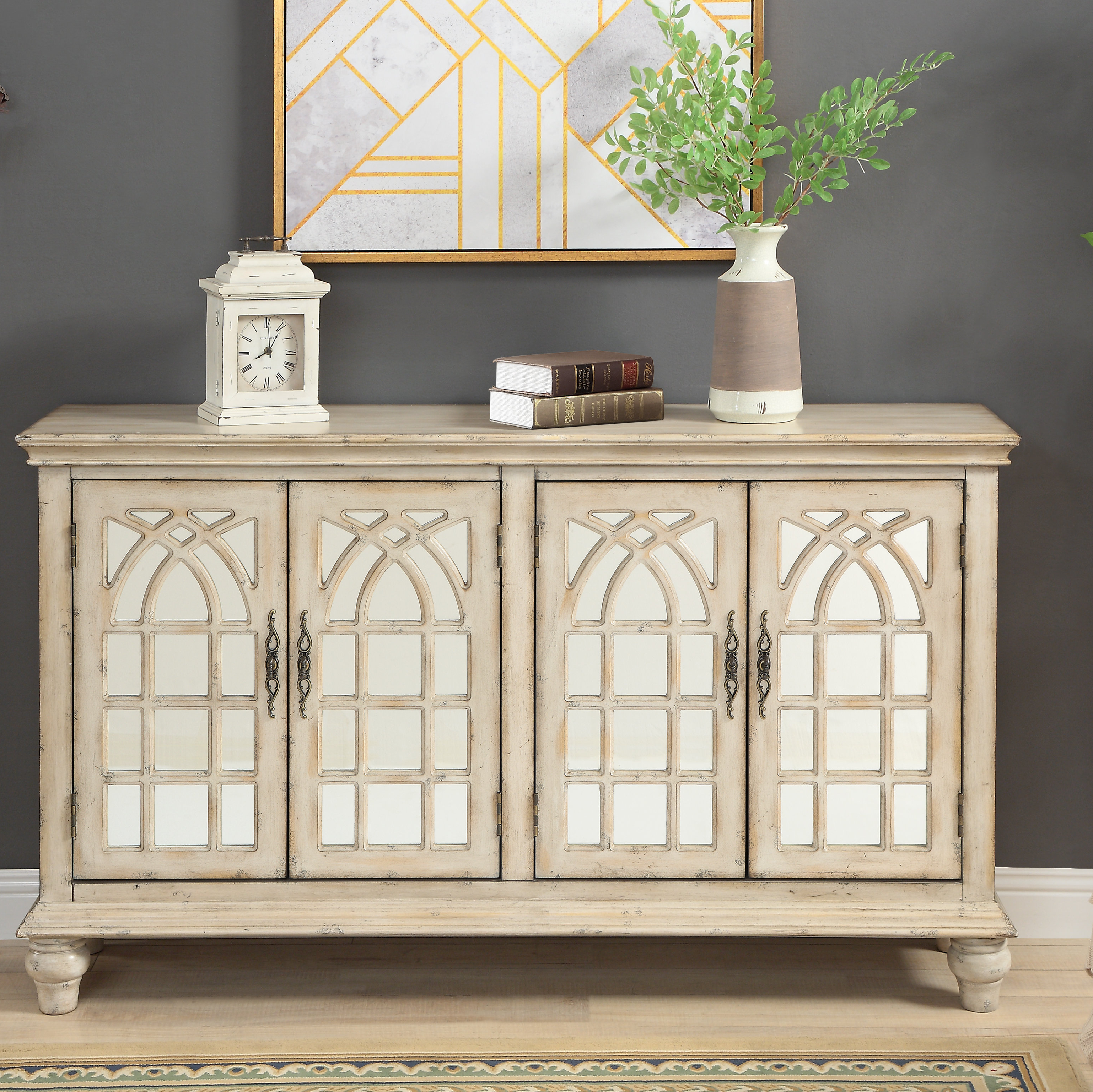 Thin Credenza | Wayfair Pertaining To Lowrey Credenzas (View 18 of 20)