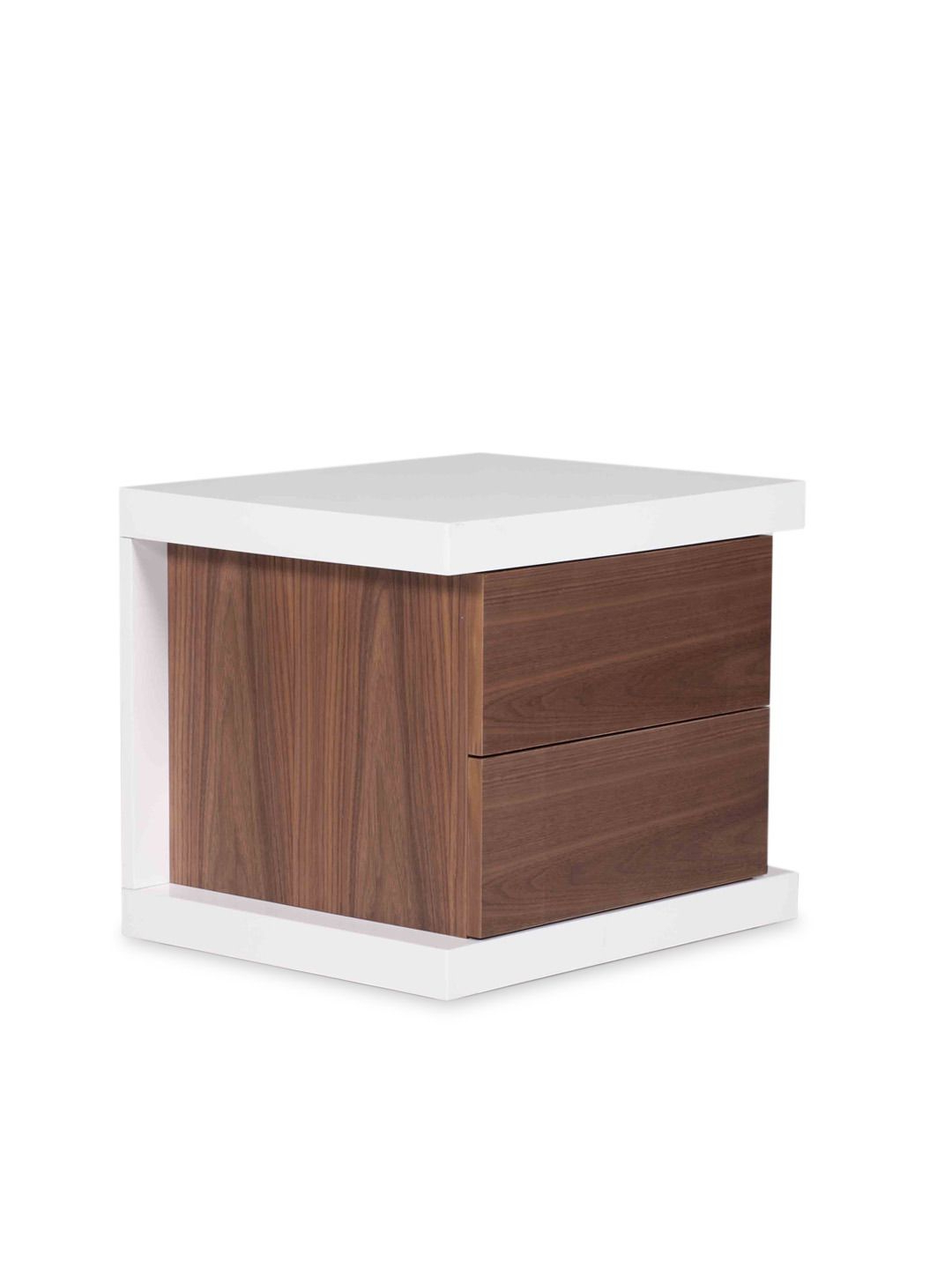 Thite Night Stand (white/walnut) – Gilt Homepangea Home Within Thite Sideboards (View 19 of 20)