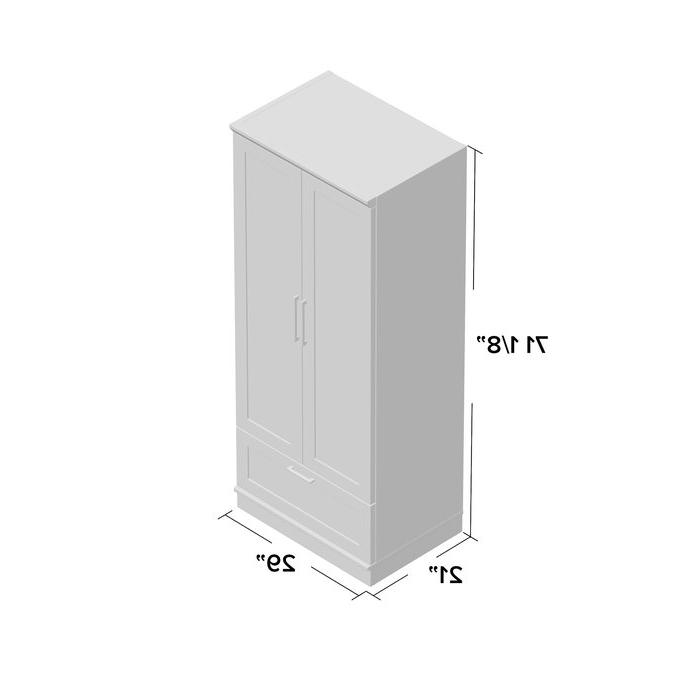 Tiberius Door Storage Cabinet Intended For Favorite Tiberius Armoire (View 13 of 20)