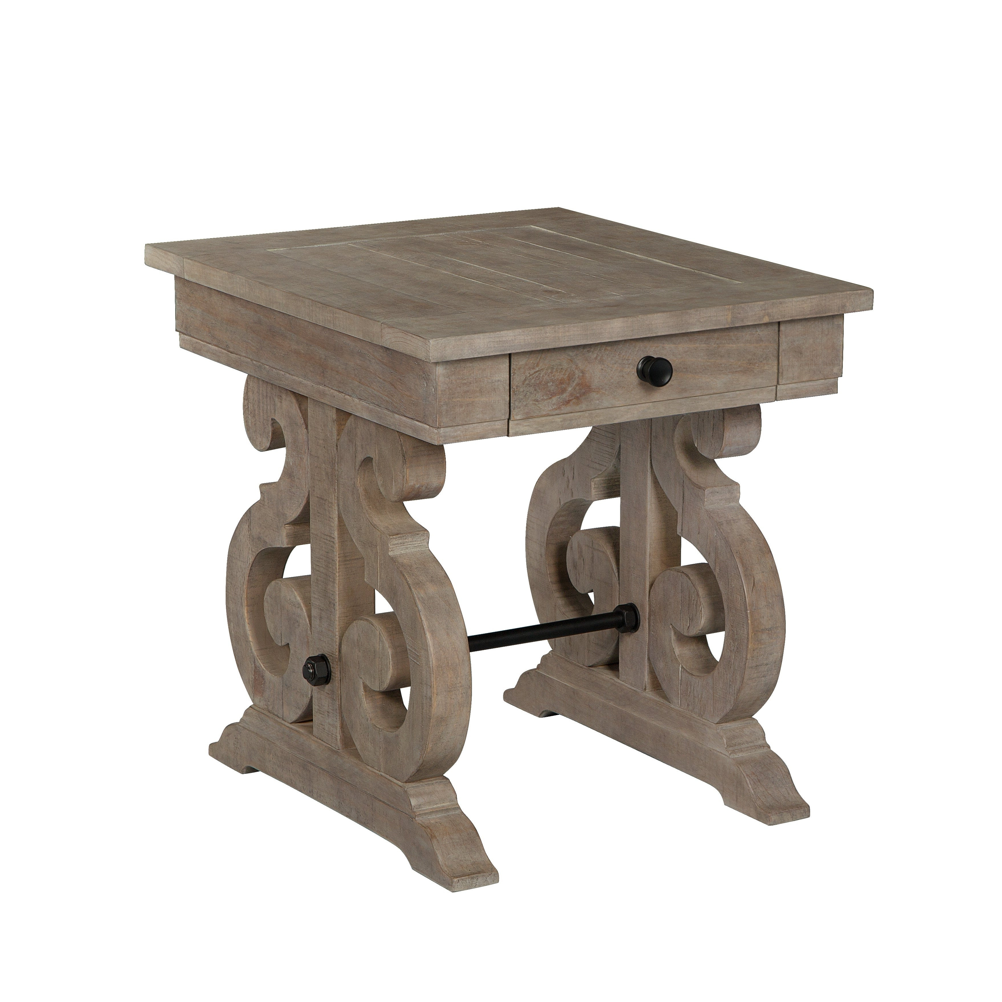 Tinley Park Traditional Dove Tail Grey End Table Pertaining To Well Known Tinley Park Traditional Dove Tail Grey Coffee Tables (View 10 of 20)