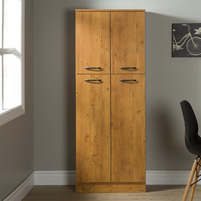"Trendy Axess Kitchen Pantry With Regard To South Shore Axess 61"" Kitchen Pantry Finish: Country Pine In (View 11 of 20)"