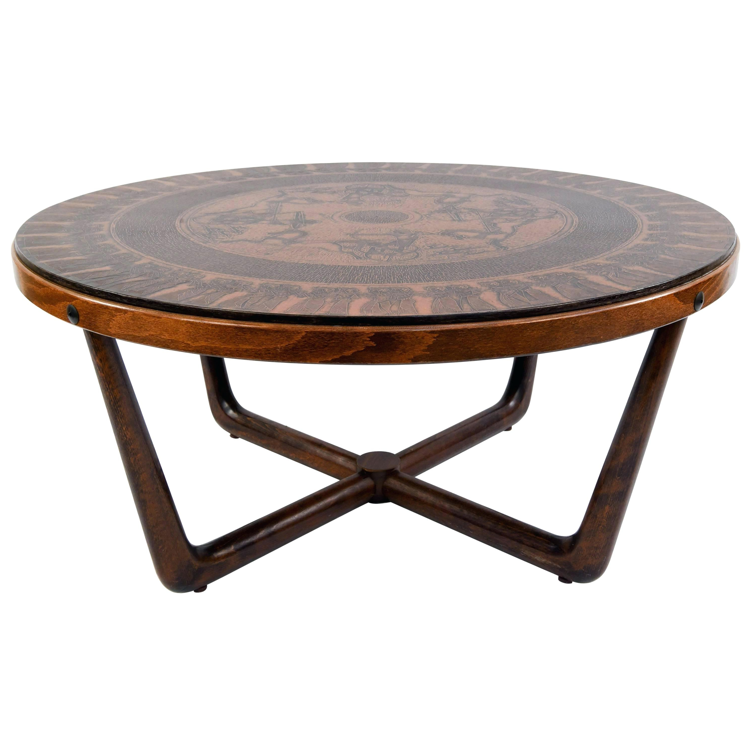 Trendy Copper Grove Chrysotome Square Unfinished Solid Parawood Coffee Tables Within Copper Coffee Tables Sale – Hertfordshiredating (View 17 of 20)