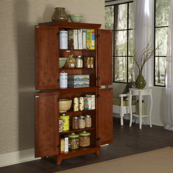 """Trendy Ferryhill Kitchen Pantry Intended For Ferryhill 73"""" Kitchen Pantry (View 3 of 20)"""