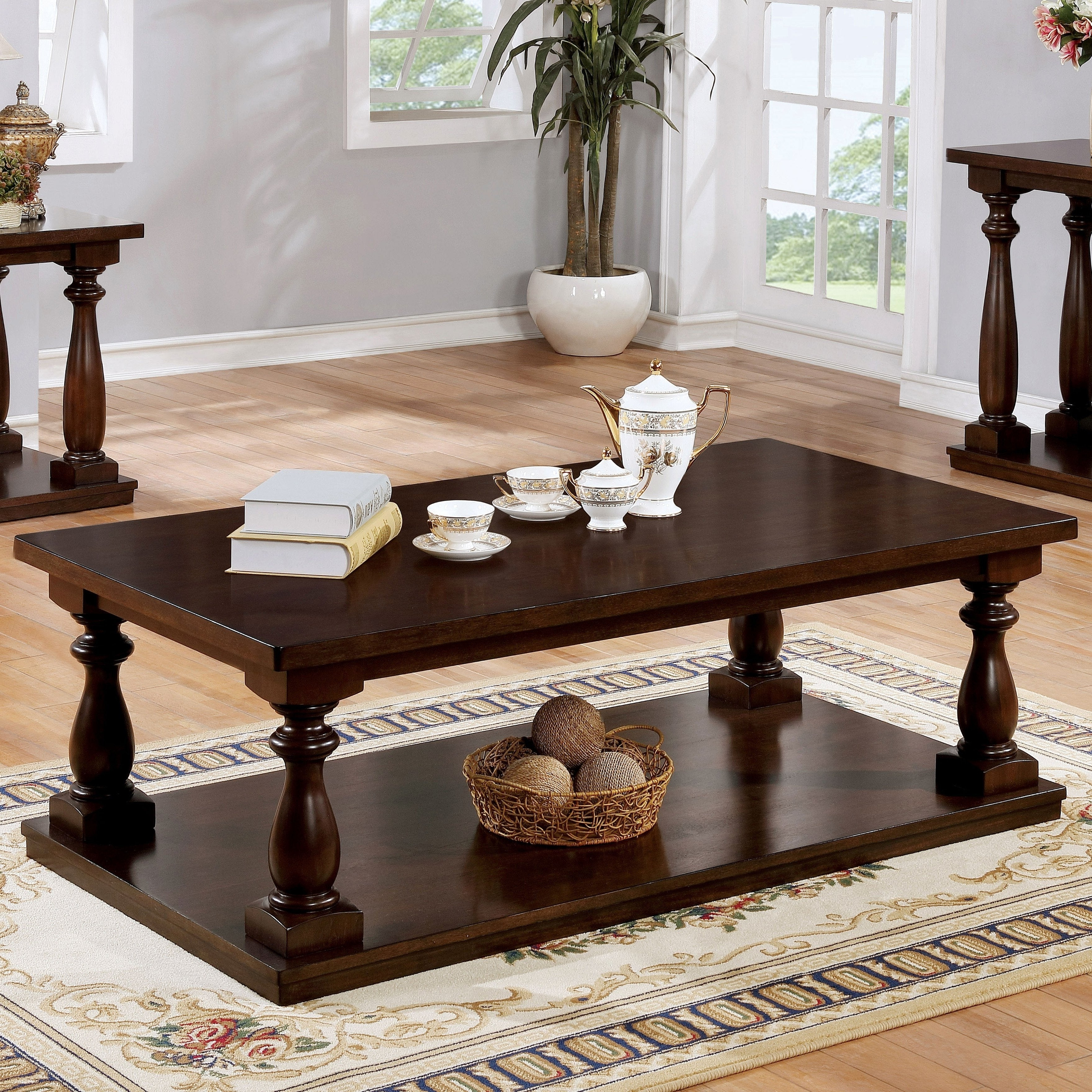 Featured Photo of Jessa Rustic Country 54 Inch Coffee Tables
